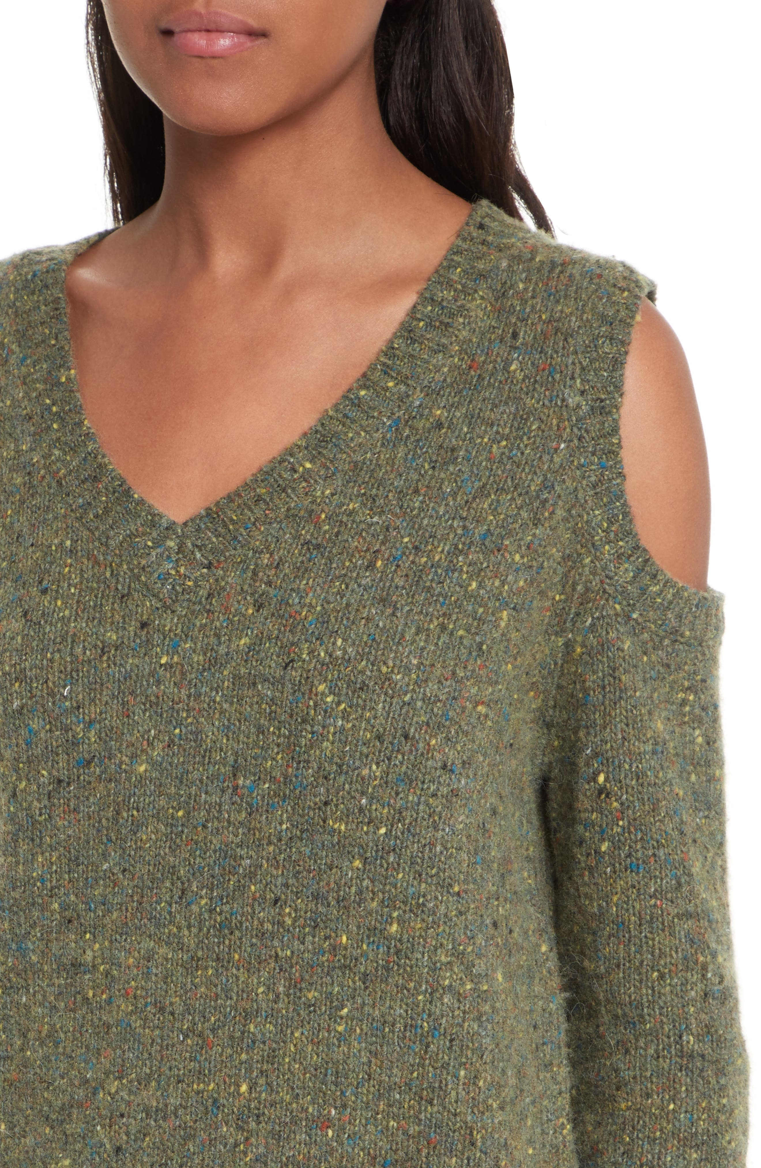 Page Cold Shoulder Sweater,                             Alternate thumbnail 25, color,