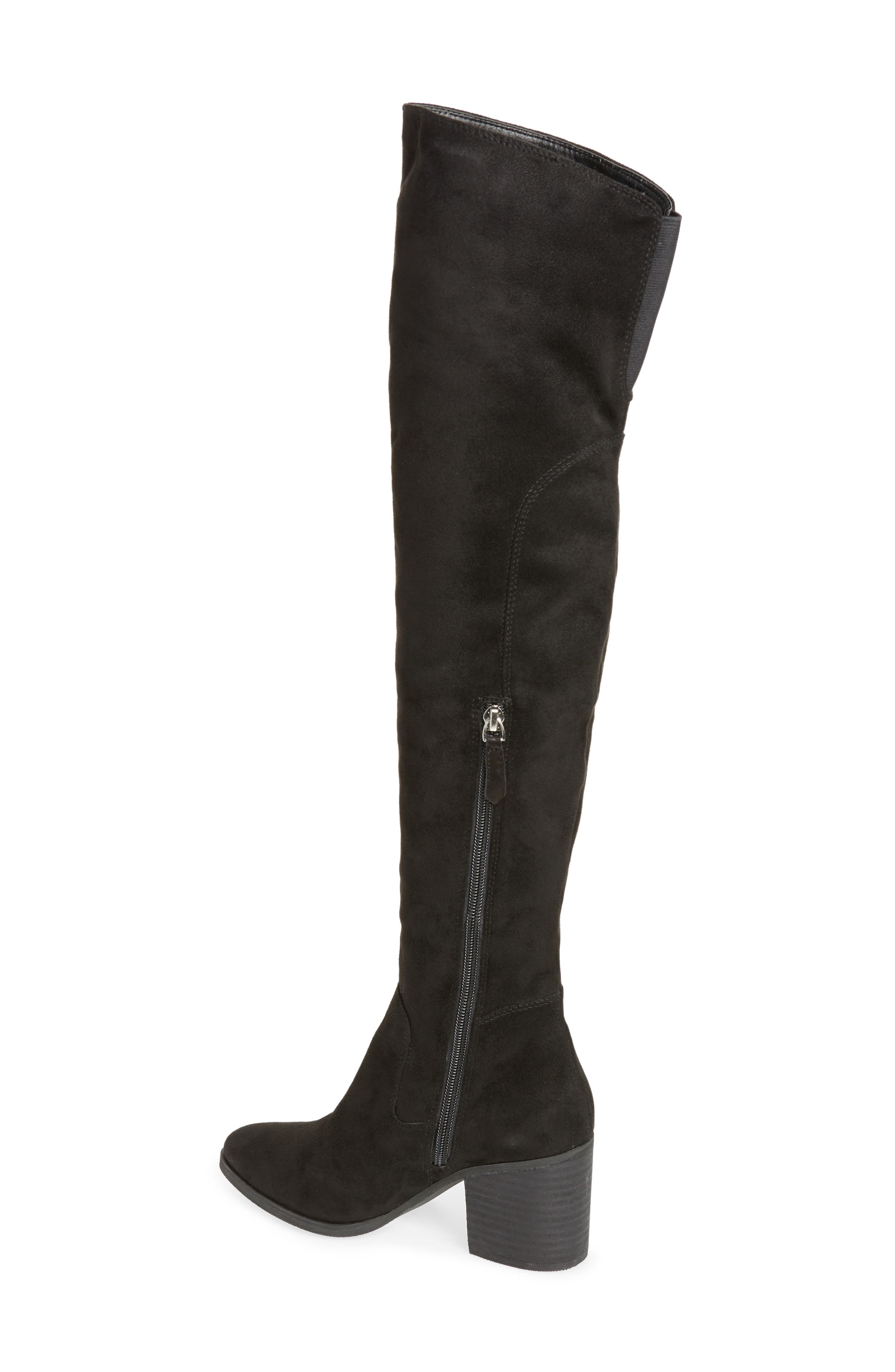 Logan Over the Knee Boot,                             Alternate thumbnail 2, color,                             001