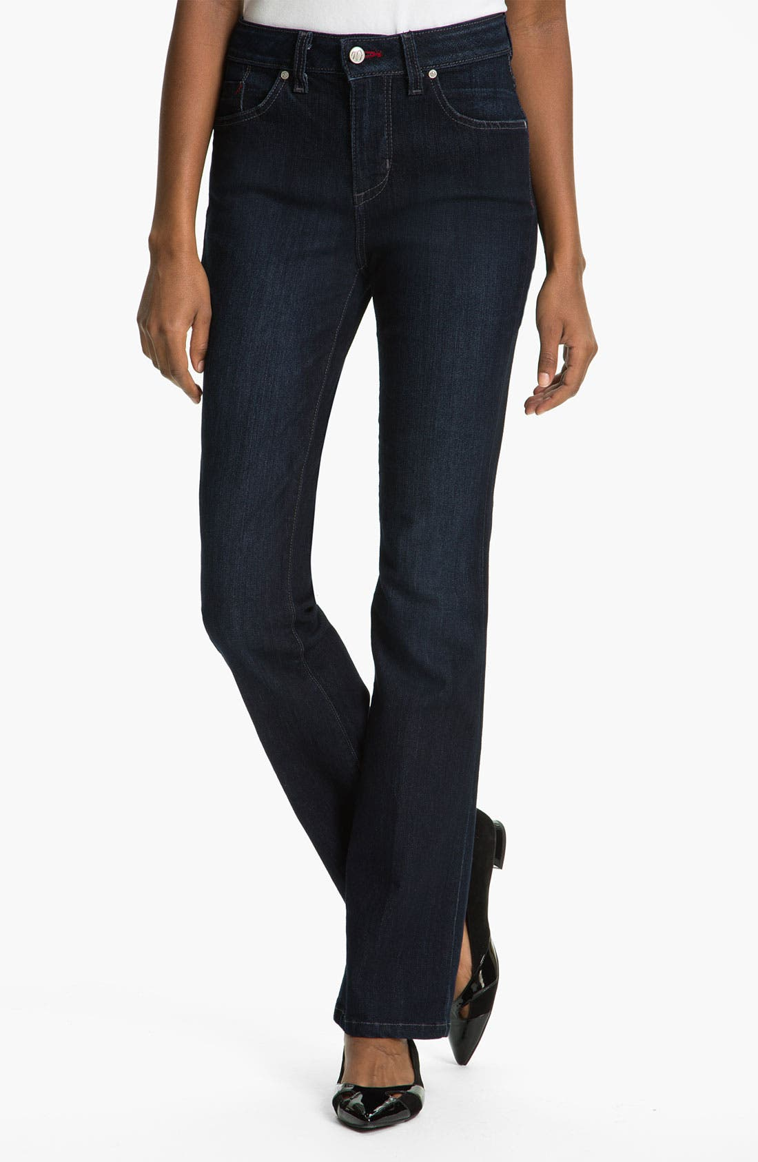 'Betty' Bootcut Stretch Jeans, Main, color, 400