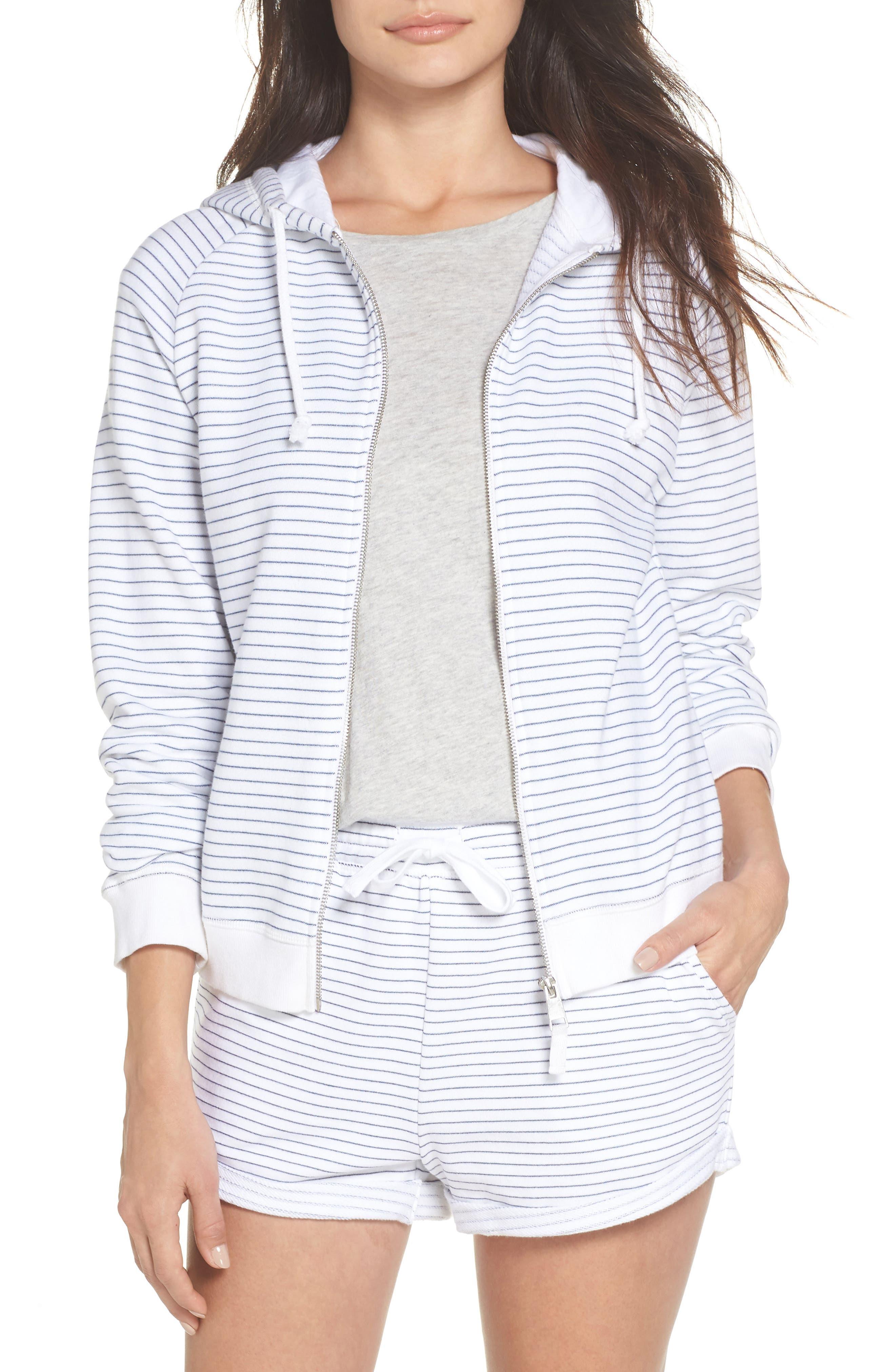 Stripe Hoodie,                         Main,                         color, 100