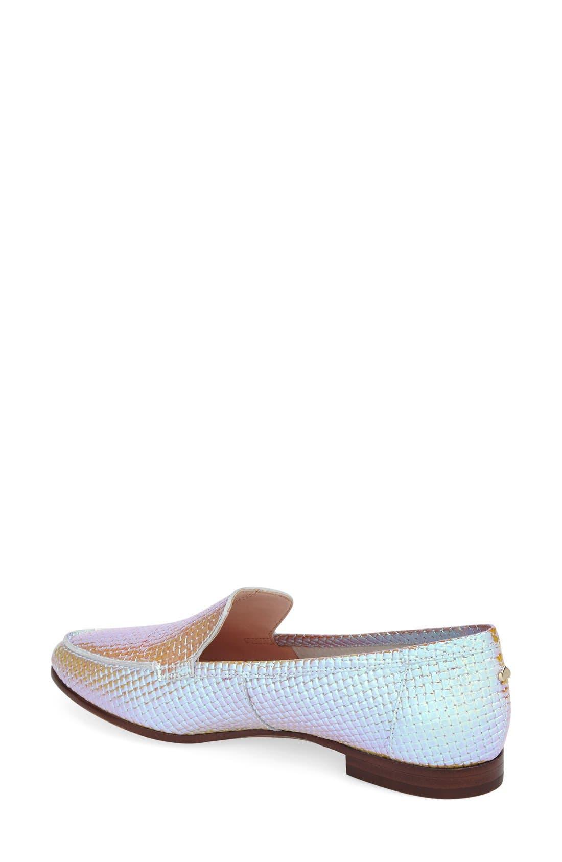 'carima' loafer flat,                             Alternate thumbnail 38, color,