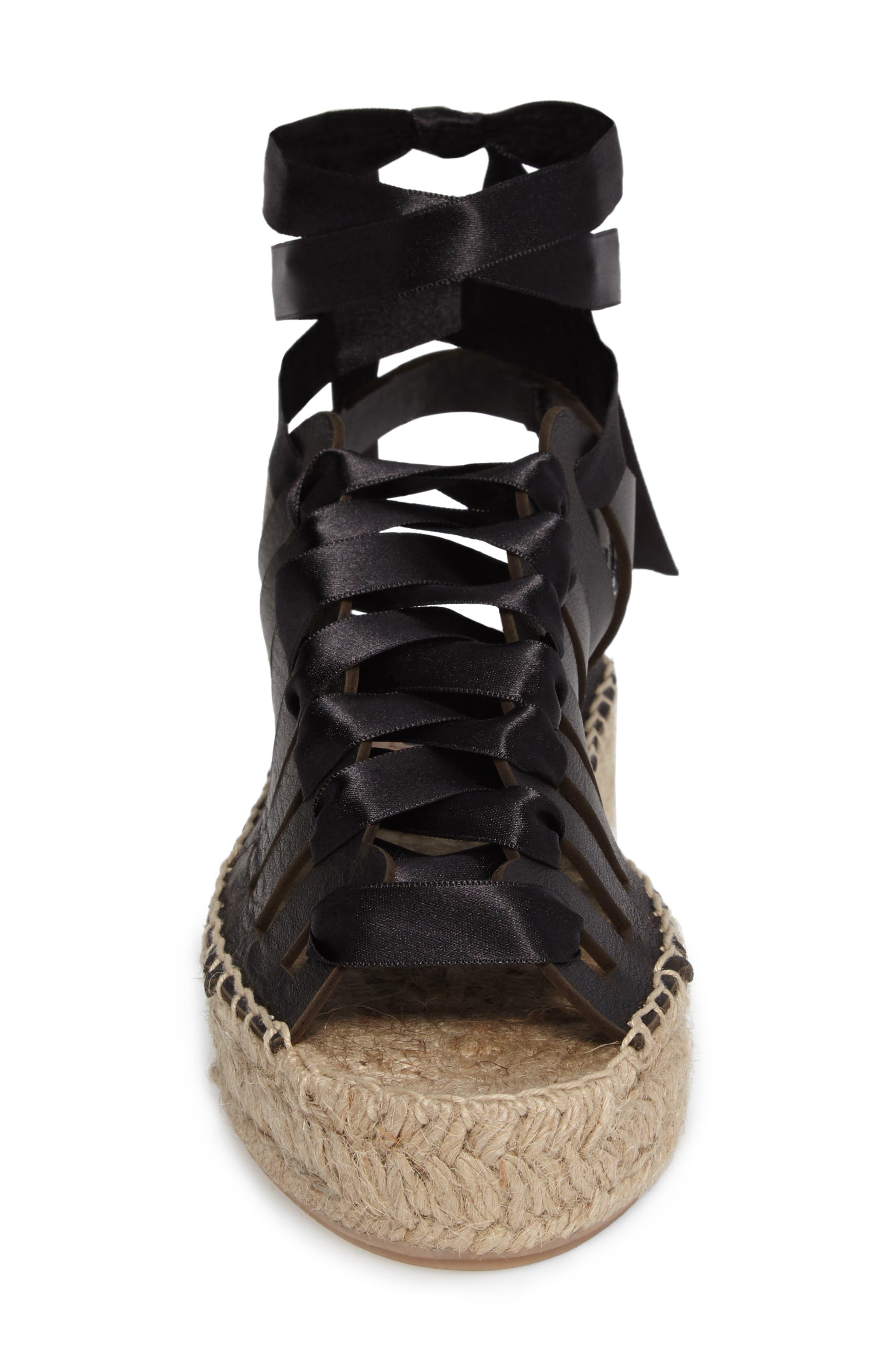 Krown Wraparound Platform Sandal,                             Alternate thumbnail 7, color,