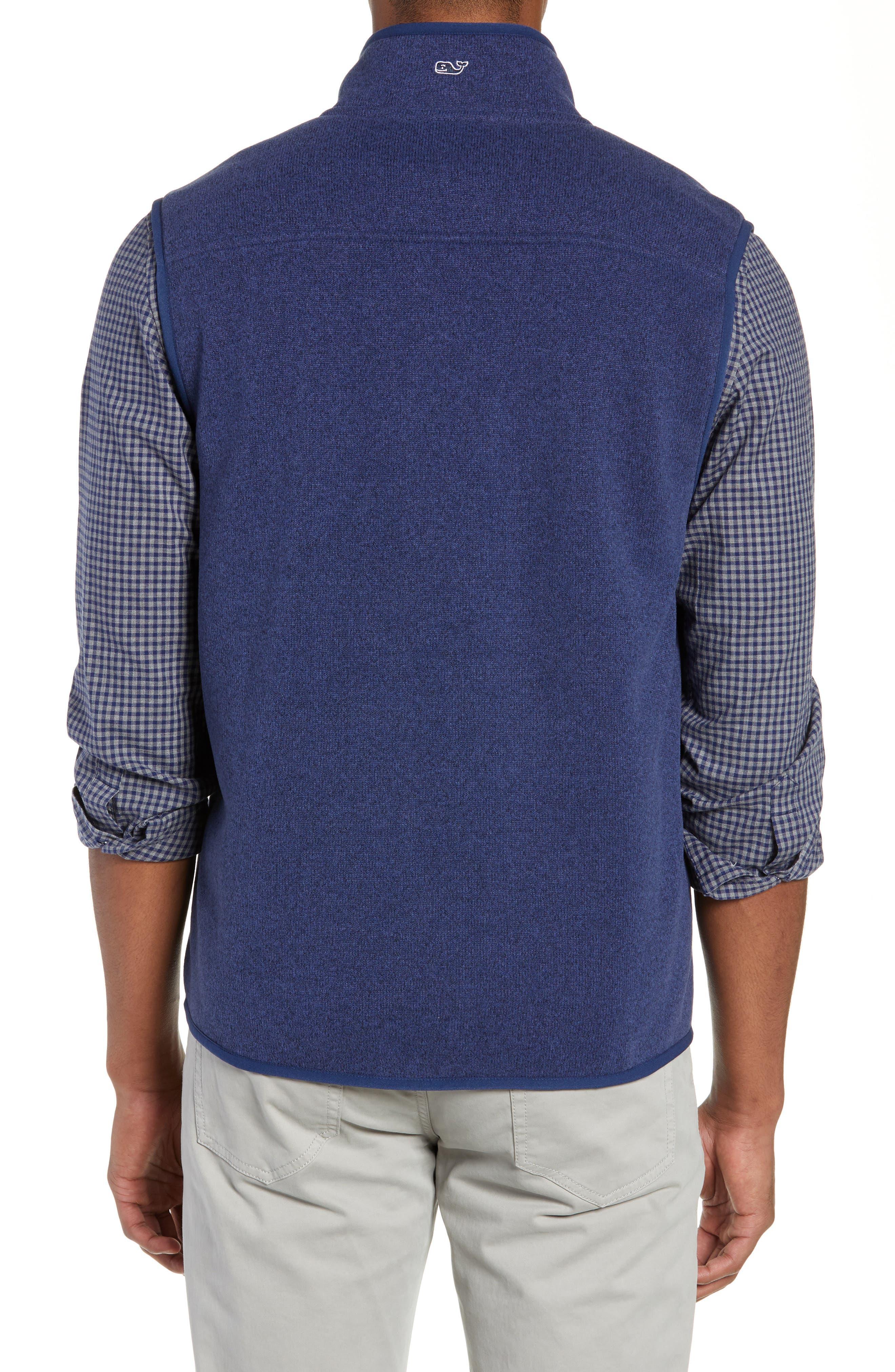 Fleece Vest,                             Alternate thumbnail 2, color,                             DEEP BAY