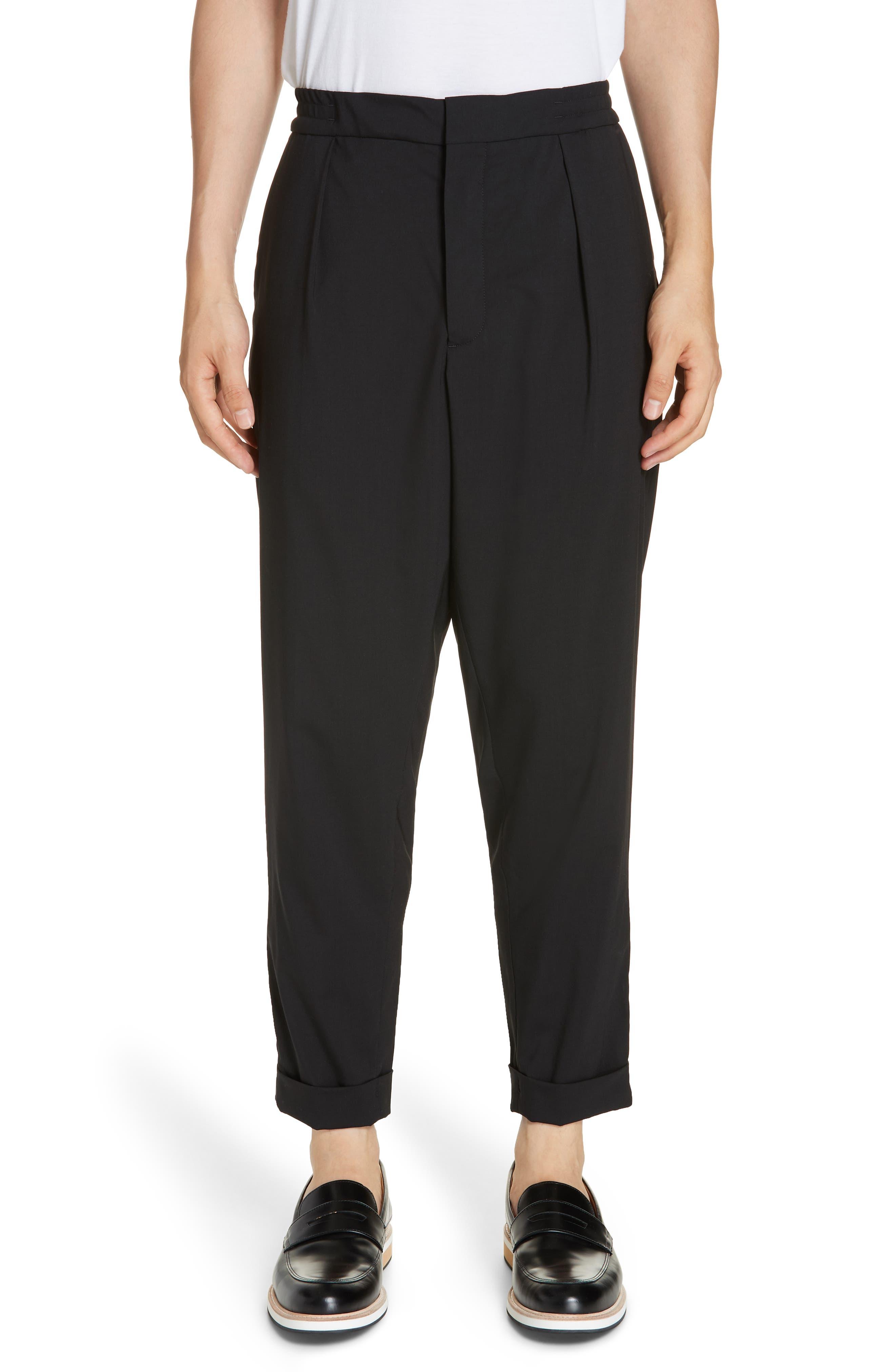 Barena Venzia Tropical Wool Pants,                             Main thumbnail 1, color,                             001