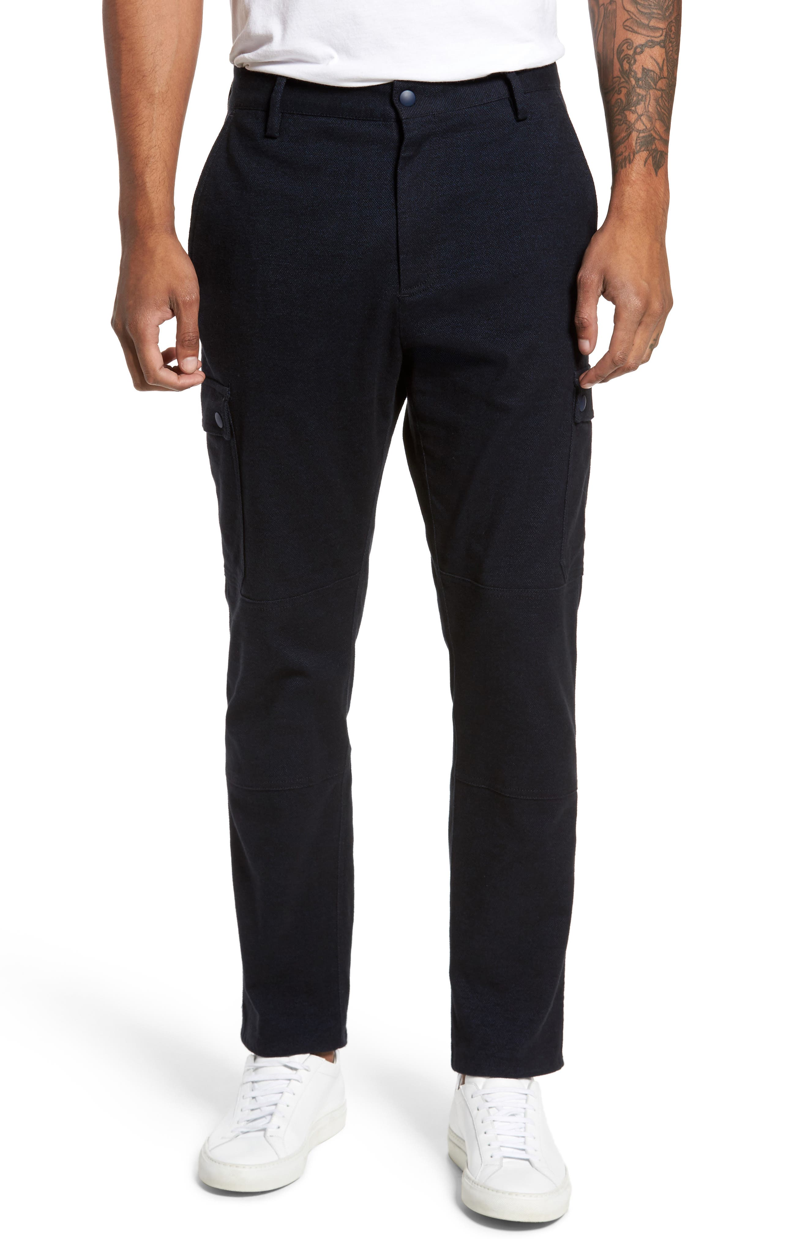 Zachary Prell Rainer Cargo Pants, Blue