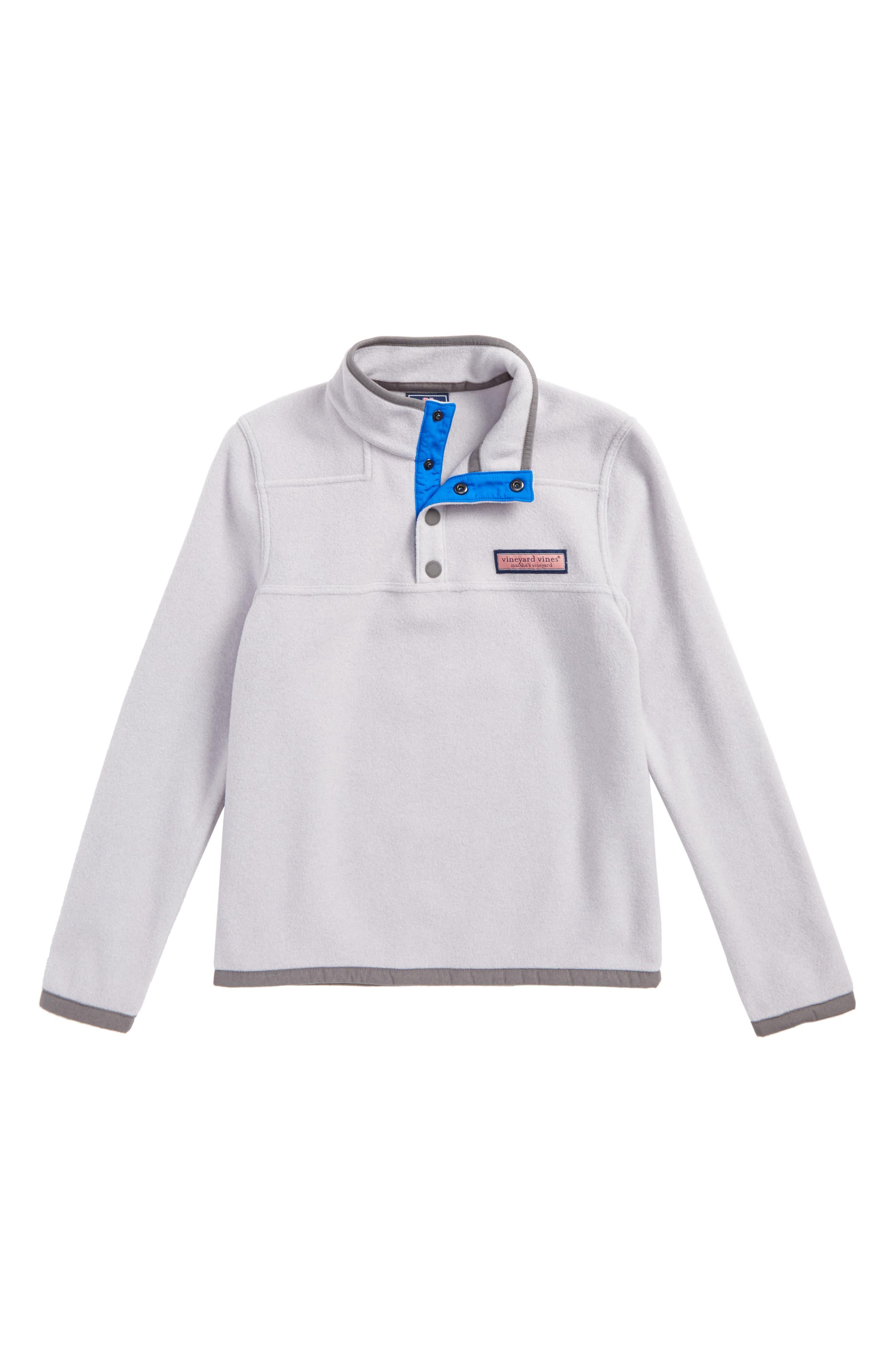 Shep Snap Placket Fleece Pullover,                             Main thumbnail 1, color,                             039