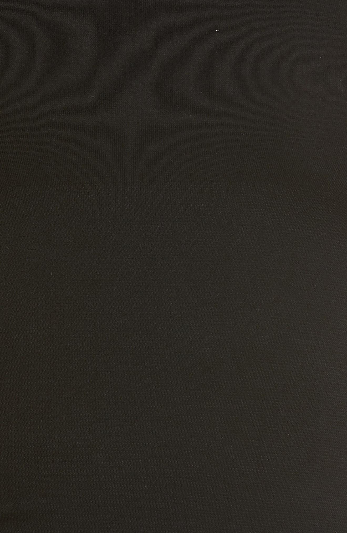 Scoop Neck Shaping Tank,                             Alternate thumbnail 5, color,                             BLACK