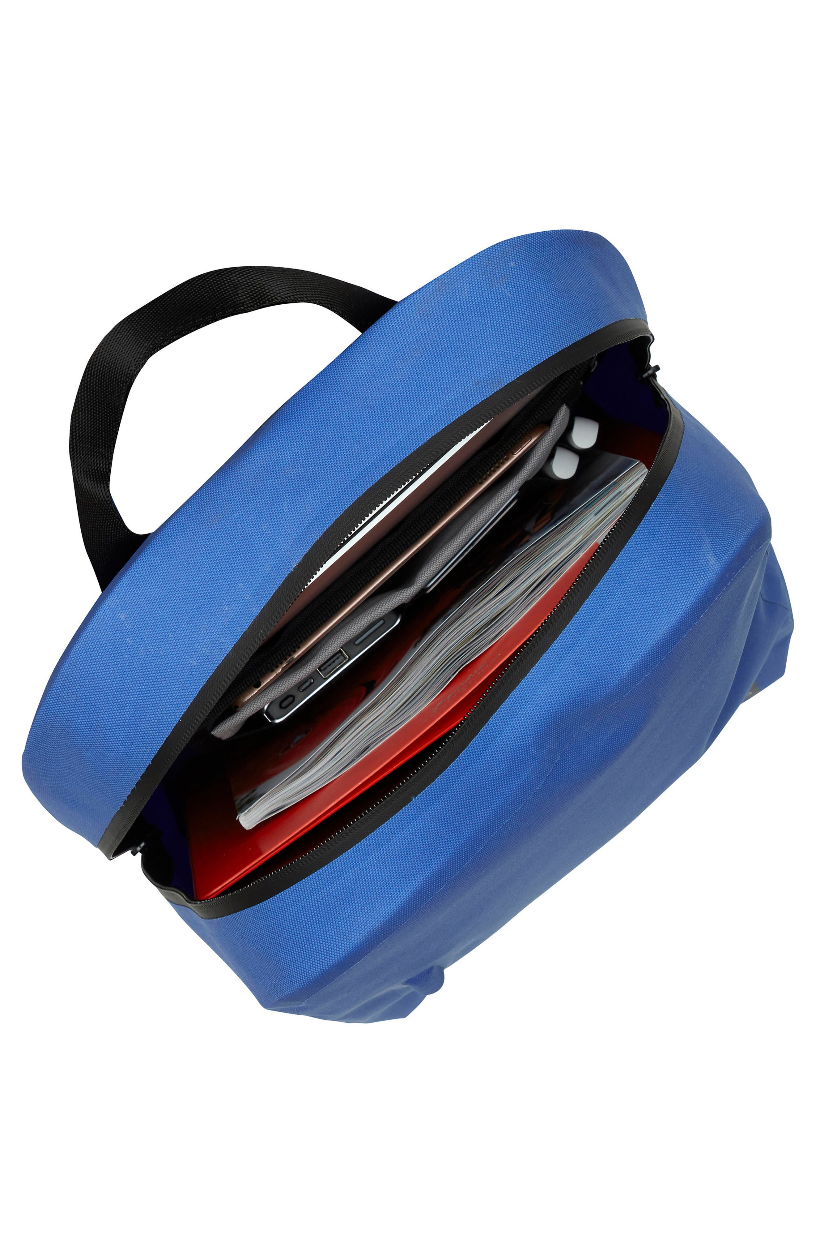 KNOMO LONDON,                             Thames Harpsden Backpack,                             Alternate thumbnail 5, color,                             AZURE BLUE