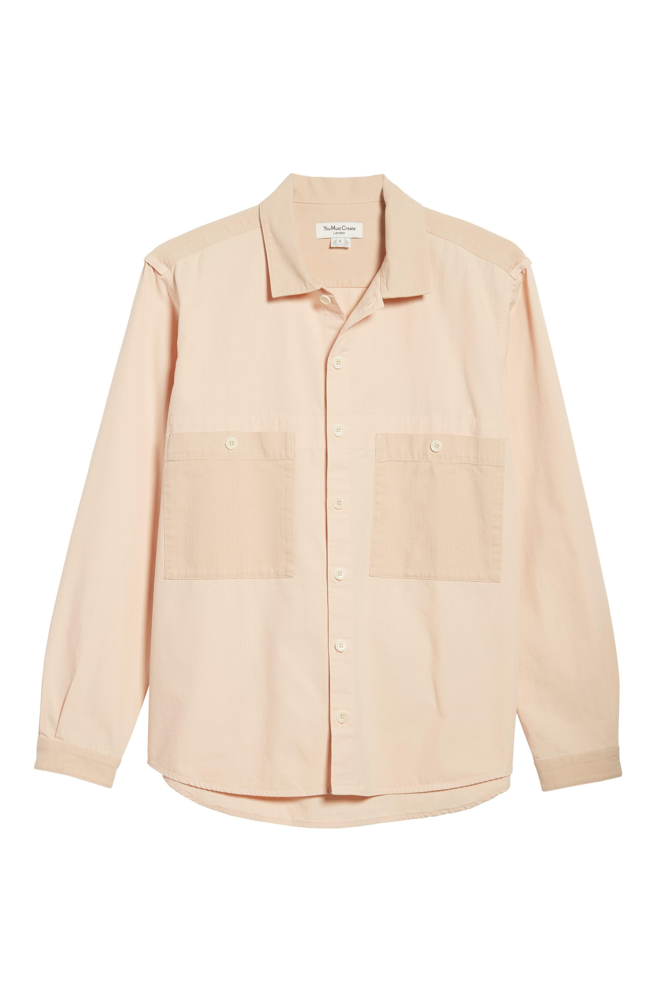 Doc Savage Slim Fit Sport Shirt,                             Alternate thumbnail 6, color,