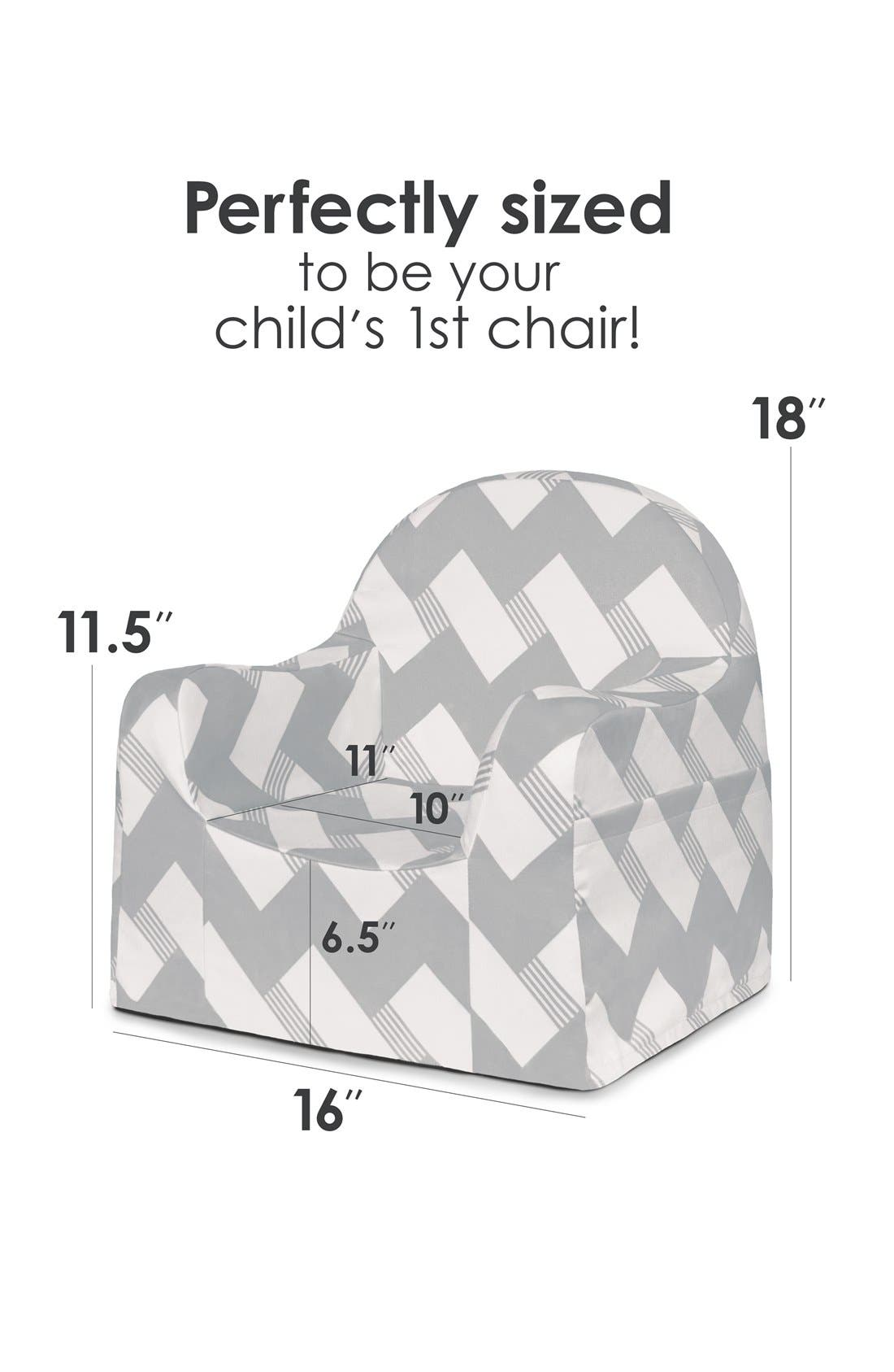 'Personalized Little Reader' Chair,                             Alternate thumbnail 4, color,                             020