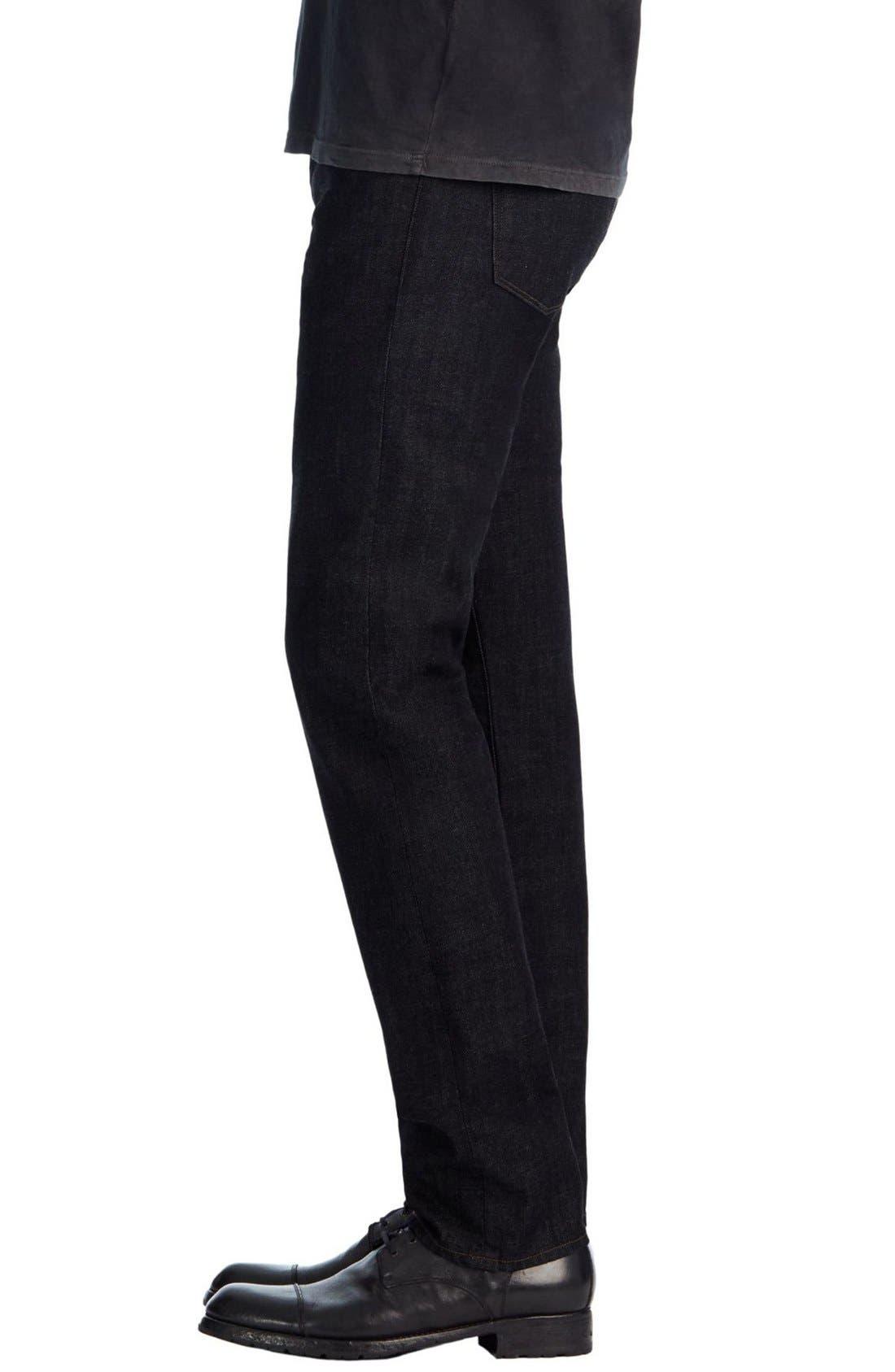 Kane Slim Straight Leg Jeans,                             Alternate thumbnail 7, color,                             410