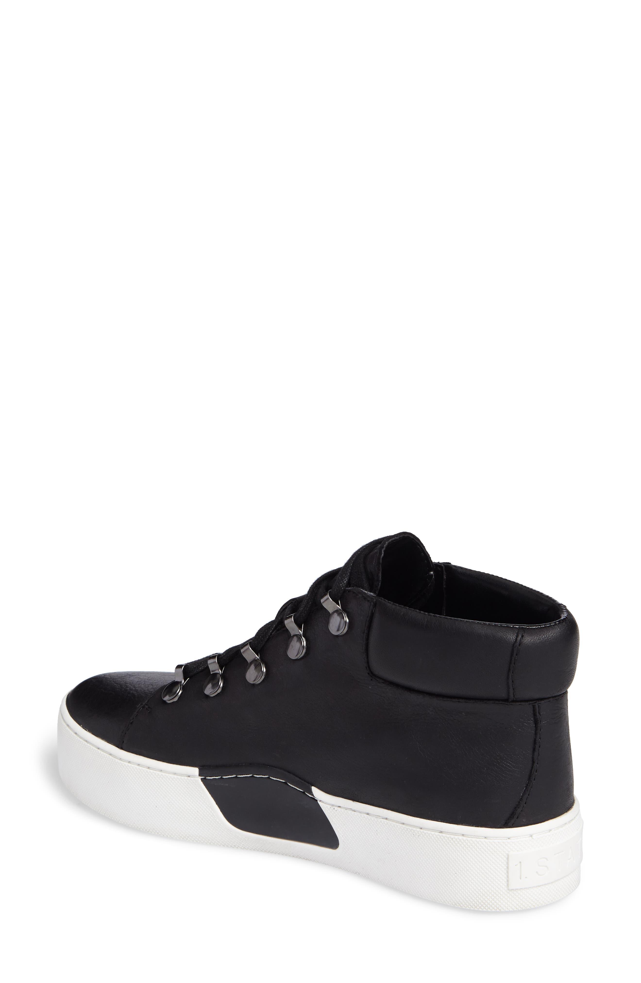 Wrine High Top Sneaker,                             Alternate thumbnail 2, color,                             001
