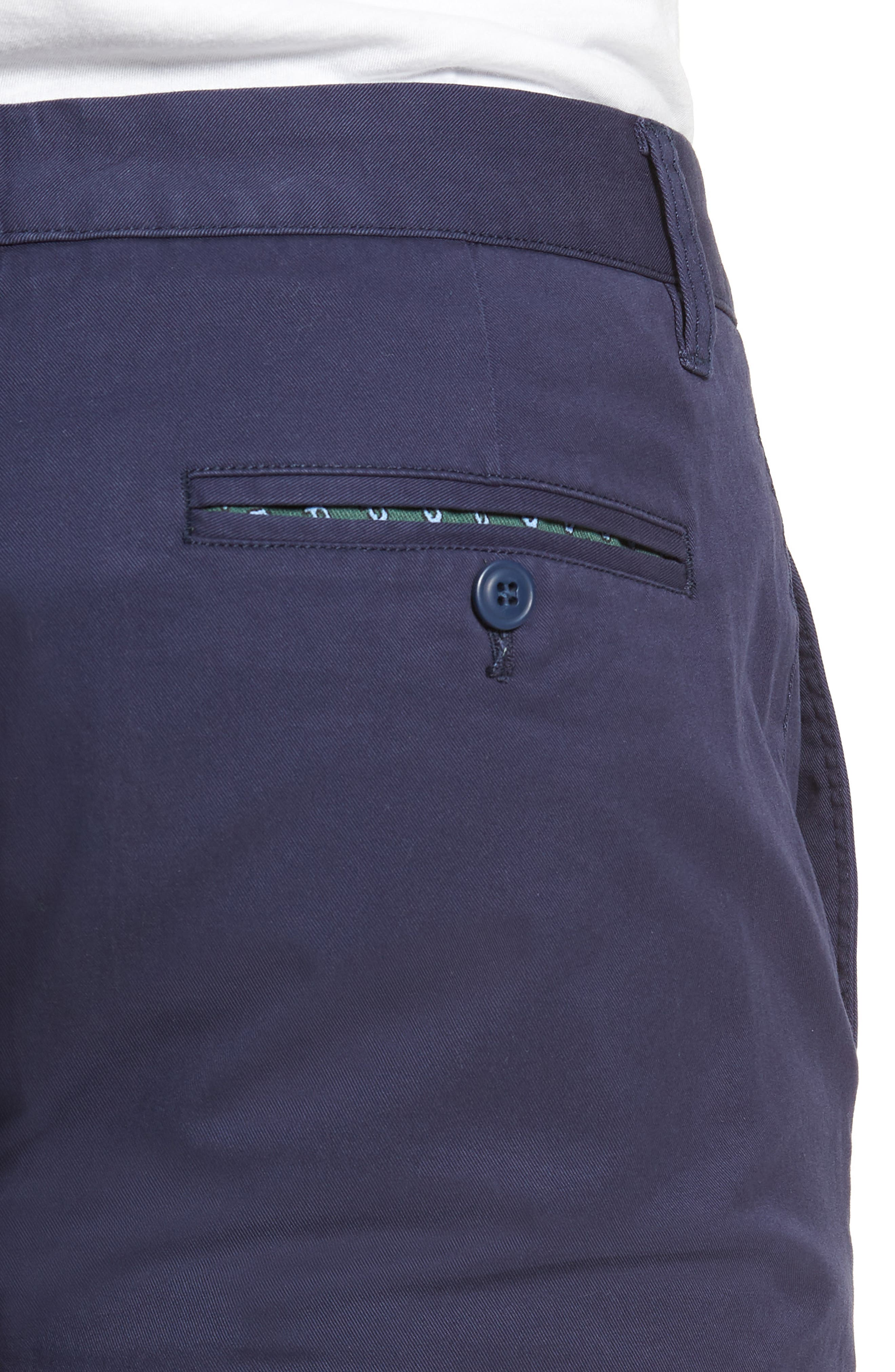 Tailored Fit Washed Stretch Cotton Chinos,                             Alternate thumbnail 119, color,