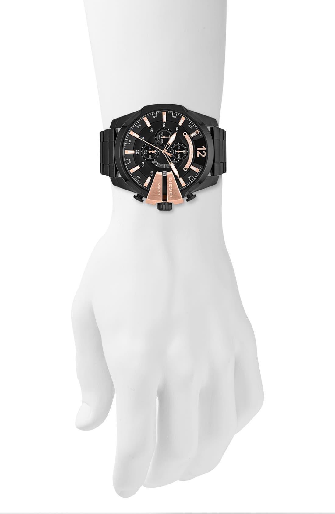 'Mega Chief' Bracelet Watch, 51mm,                             Alternate thumbnail 24, color,