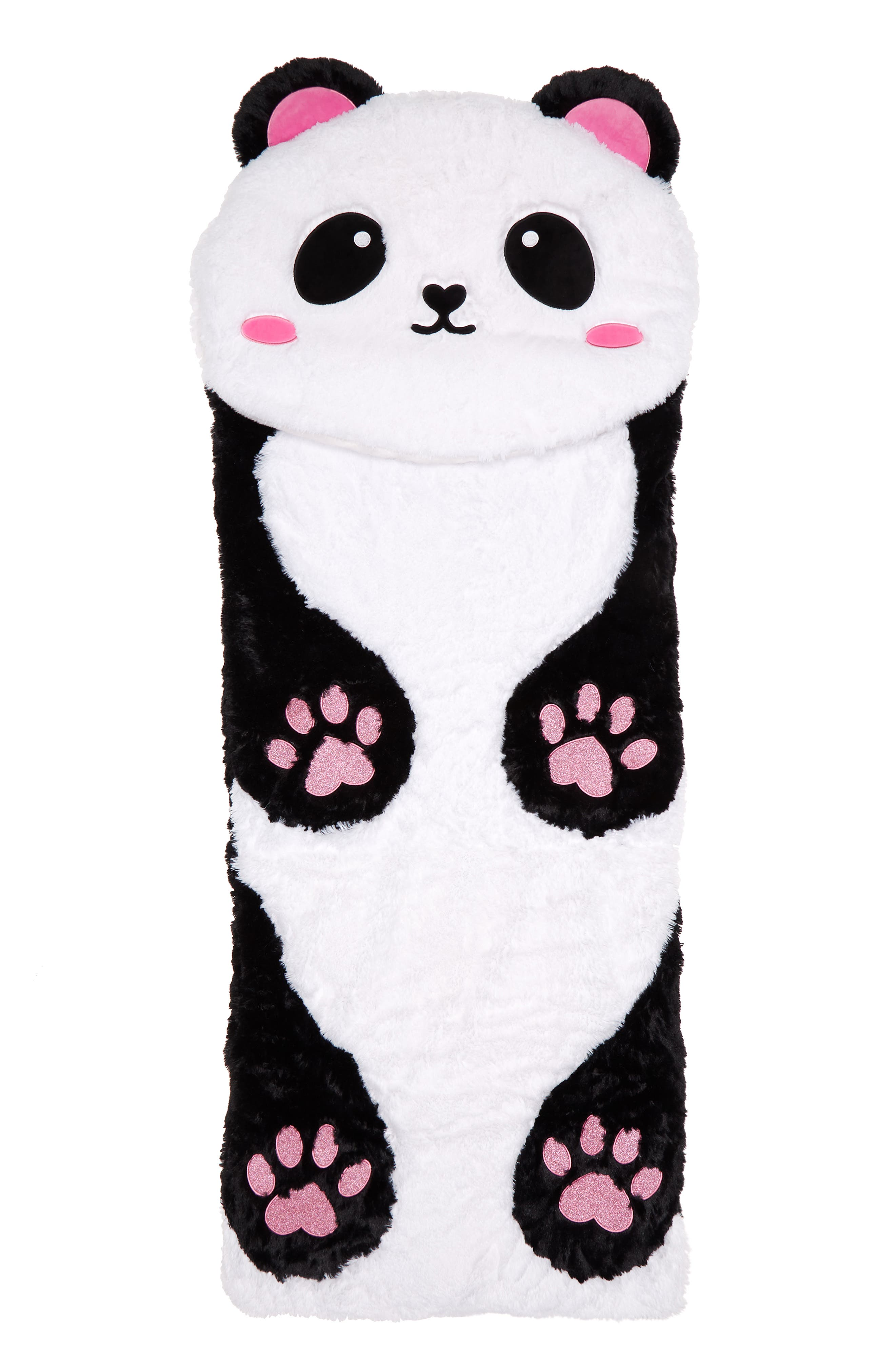 Panda Sleeping Bag,                             Main thumbnail 1, color,                             100