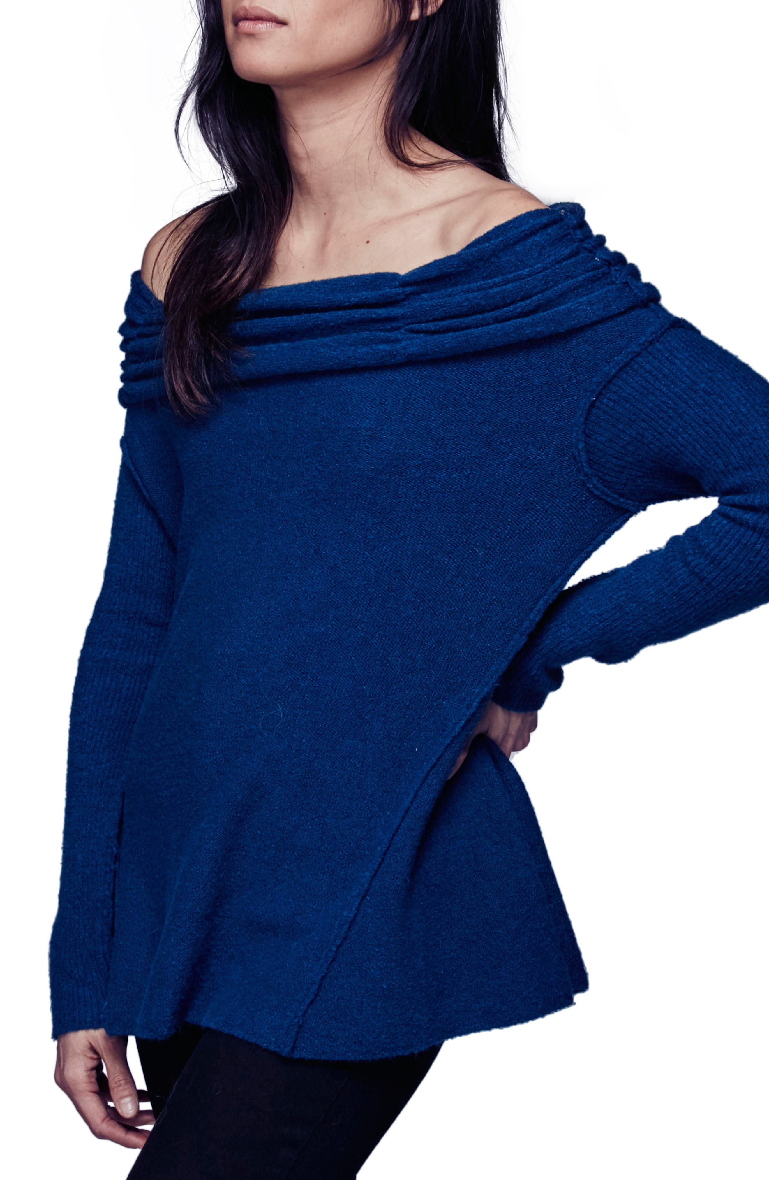 'Strawberry Fields' Off the Shoulder Sweater,                         Main,                         color, 400