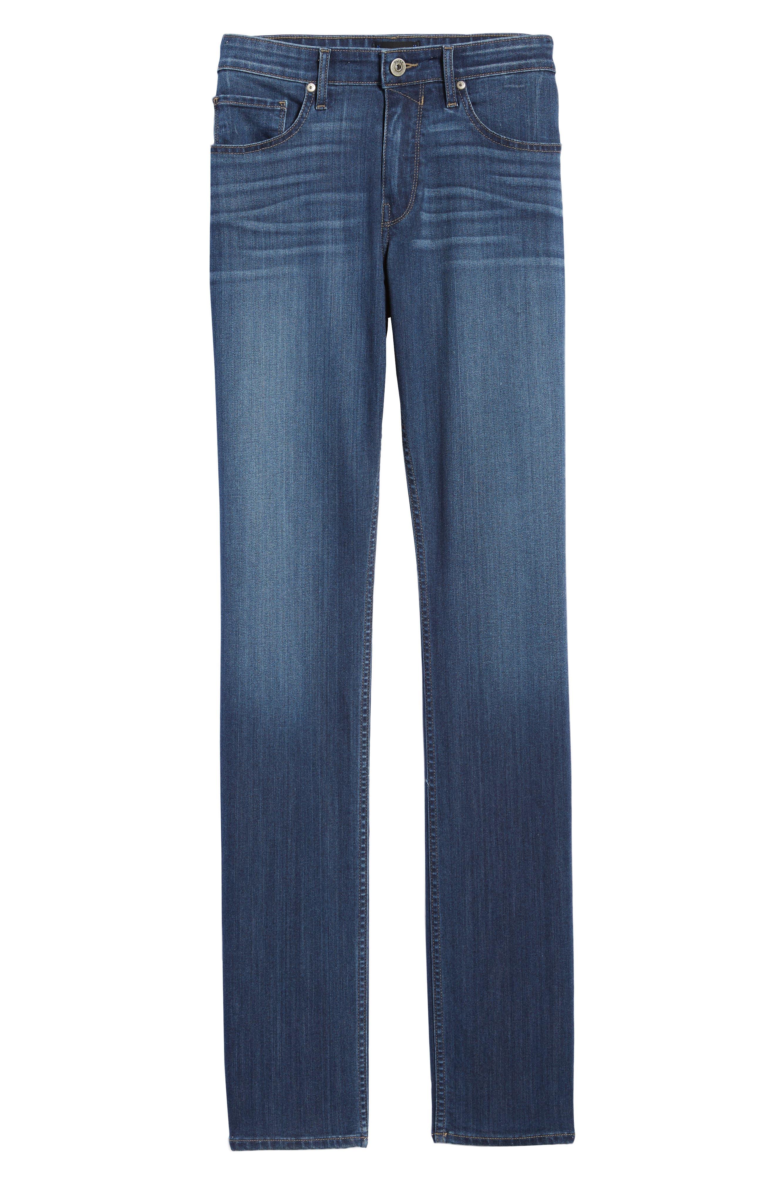 Transcend - Federal Slim Straight Leg Jeans,                             Alternate thumbnail 6, color,
