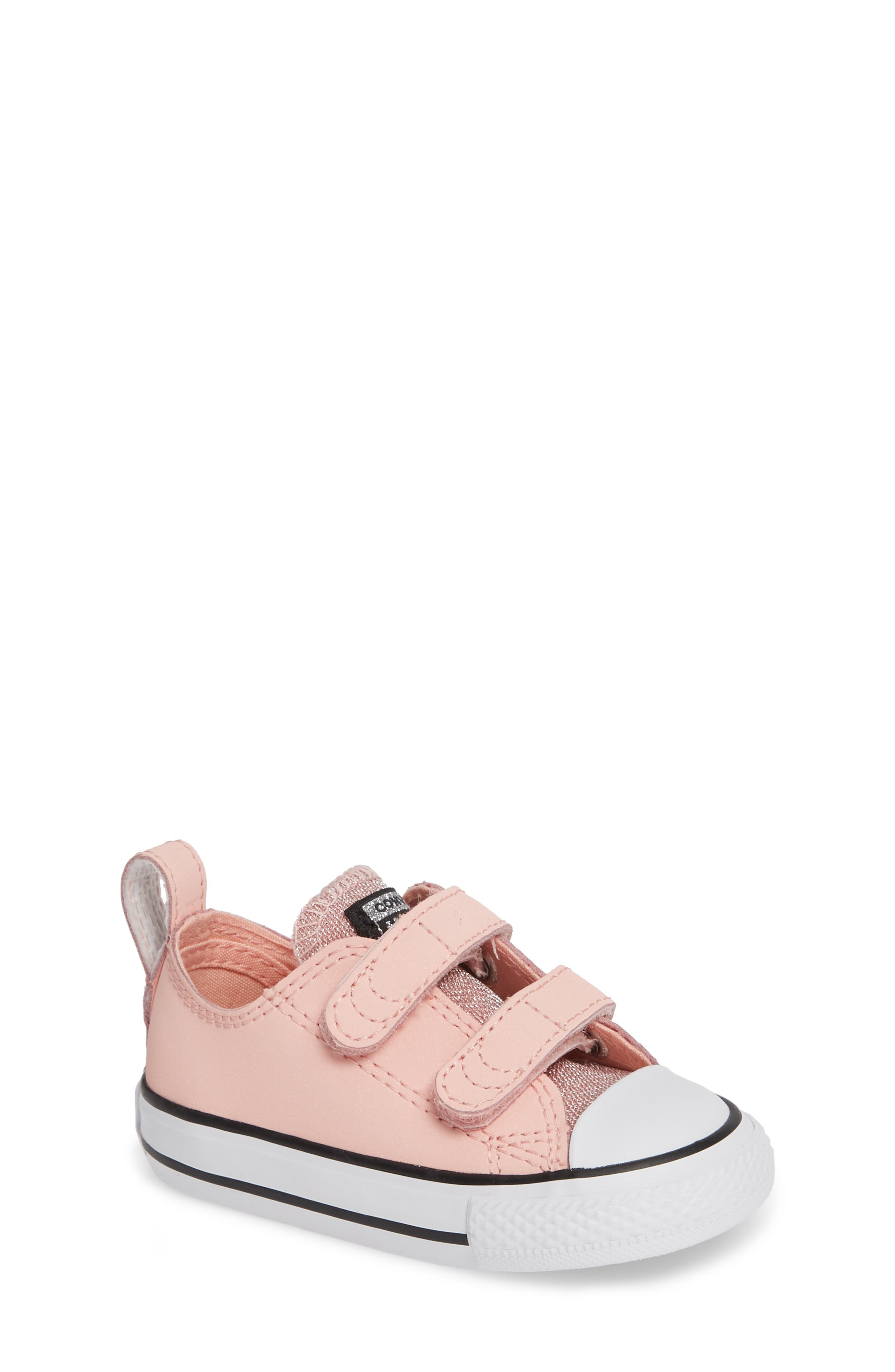 All Star<sup>®</sup> Seasonal Glitter Sneaker,                         Main,                         color, STORM PINK