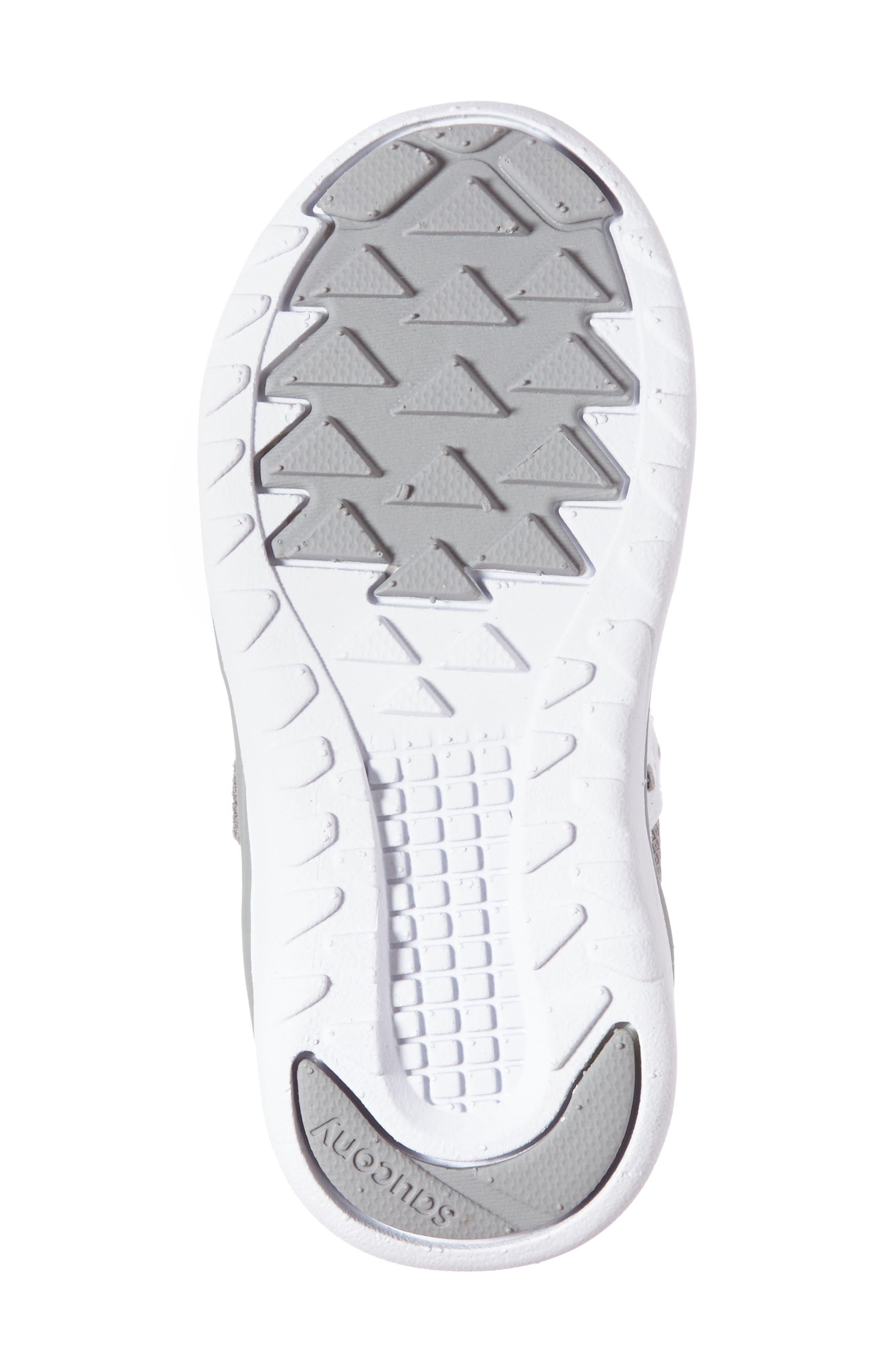 Jazz Lite Sneaker,                             Alternate thumbnail 4, color,                             GREY/ WHITE