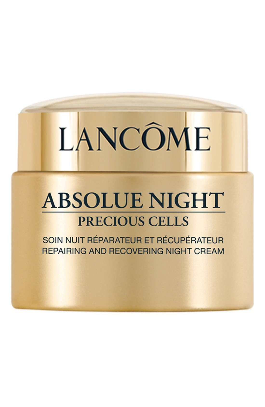 Absolue Precious Cells Repairing and Recovering Night Moisturizer Cream,                             Main thumbnail 1, color,                             NO COLOR