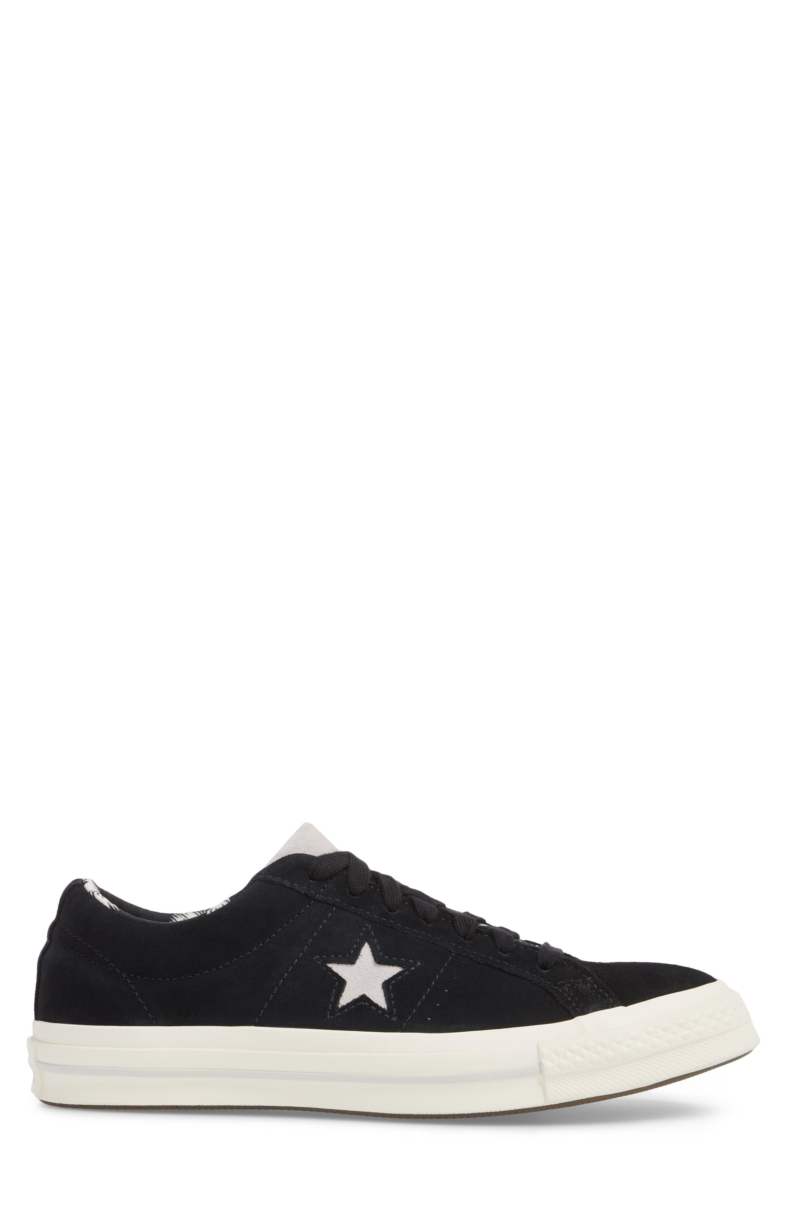 One-Star Tropical Sneaker,                             Alternate thumbnail 3, color,                             001
