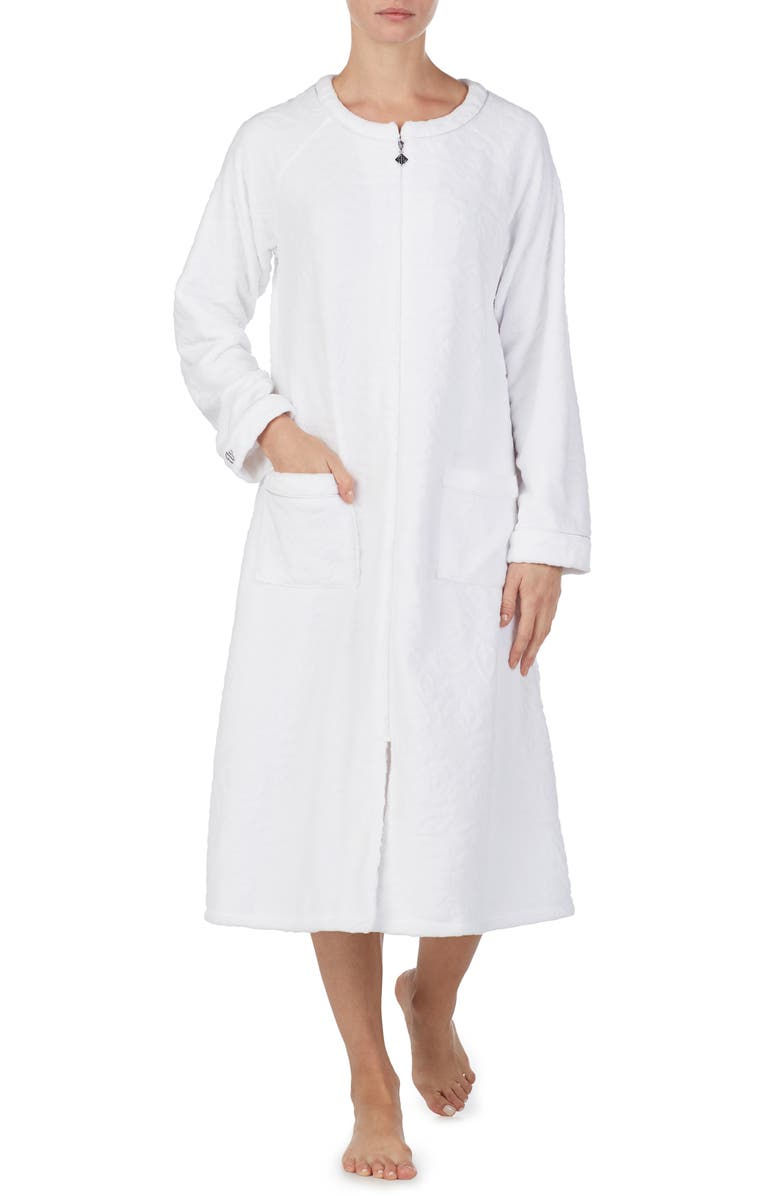 Eileen West SHORT FLEECE ROBE