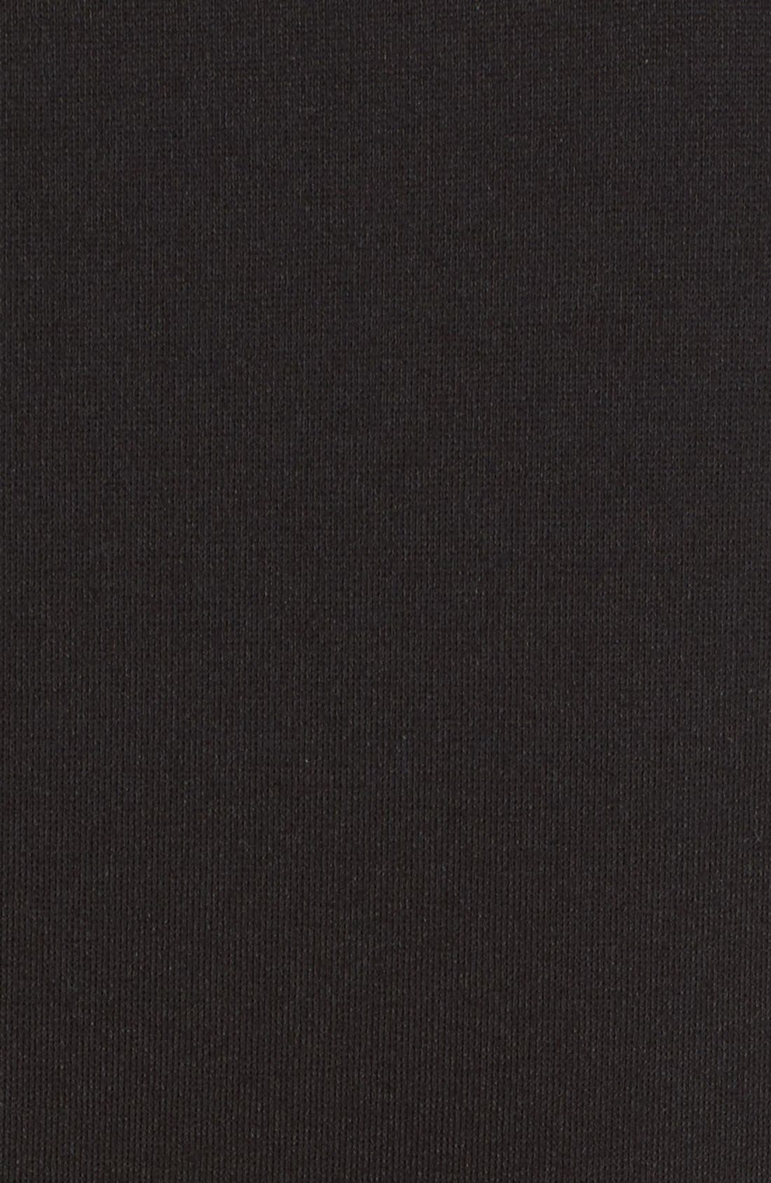 Parthenia Asymmetrical Midi Dress,                             Alternate thumbnail 5, color,                             001