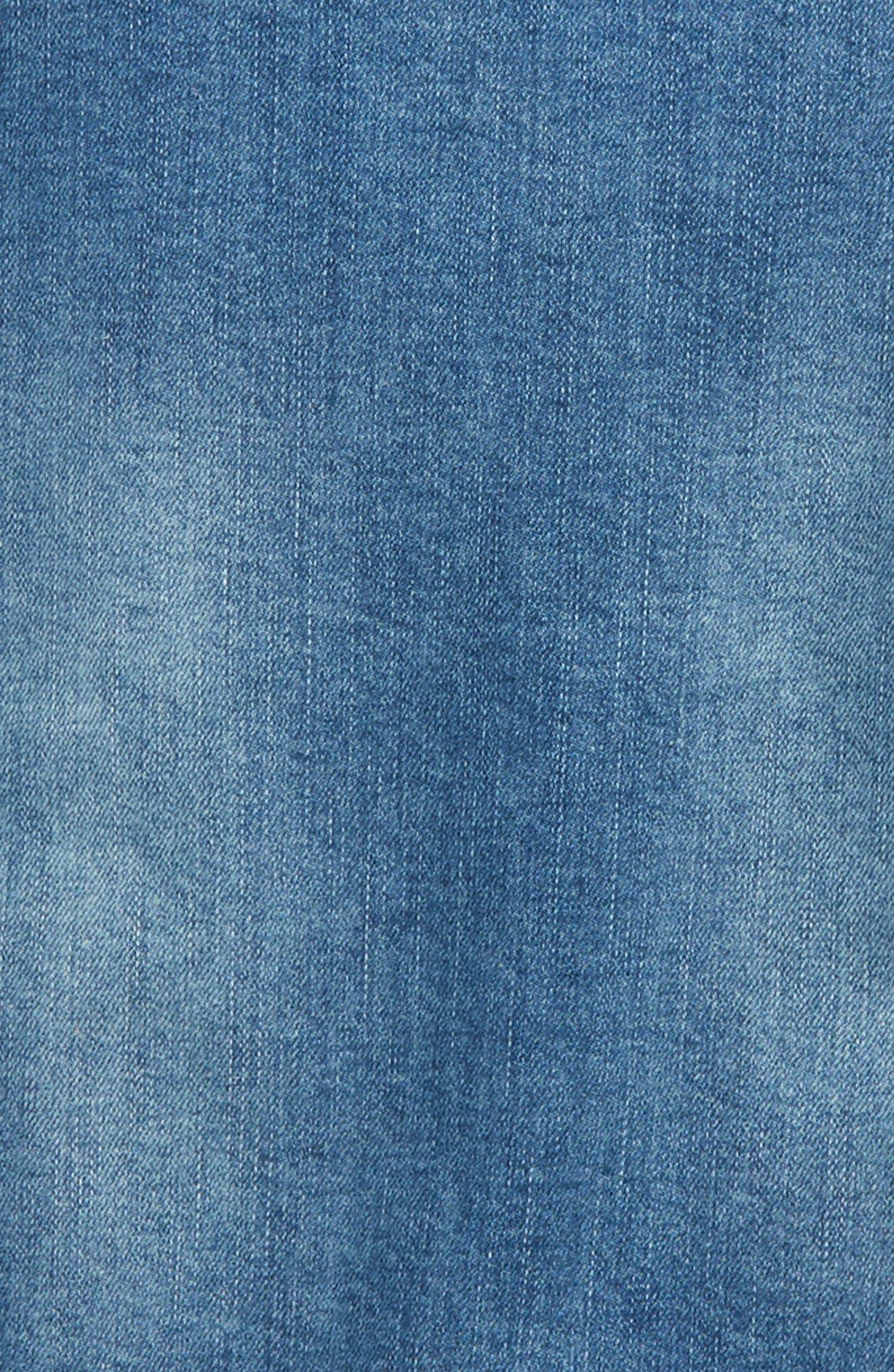 Denim Sweatshirt,                             Alternate thumbnail 2, color,                             450