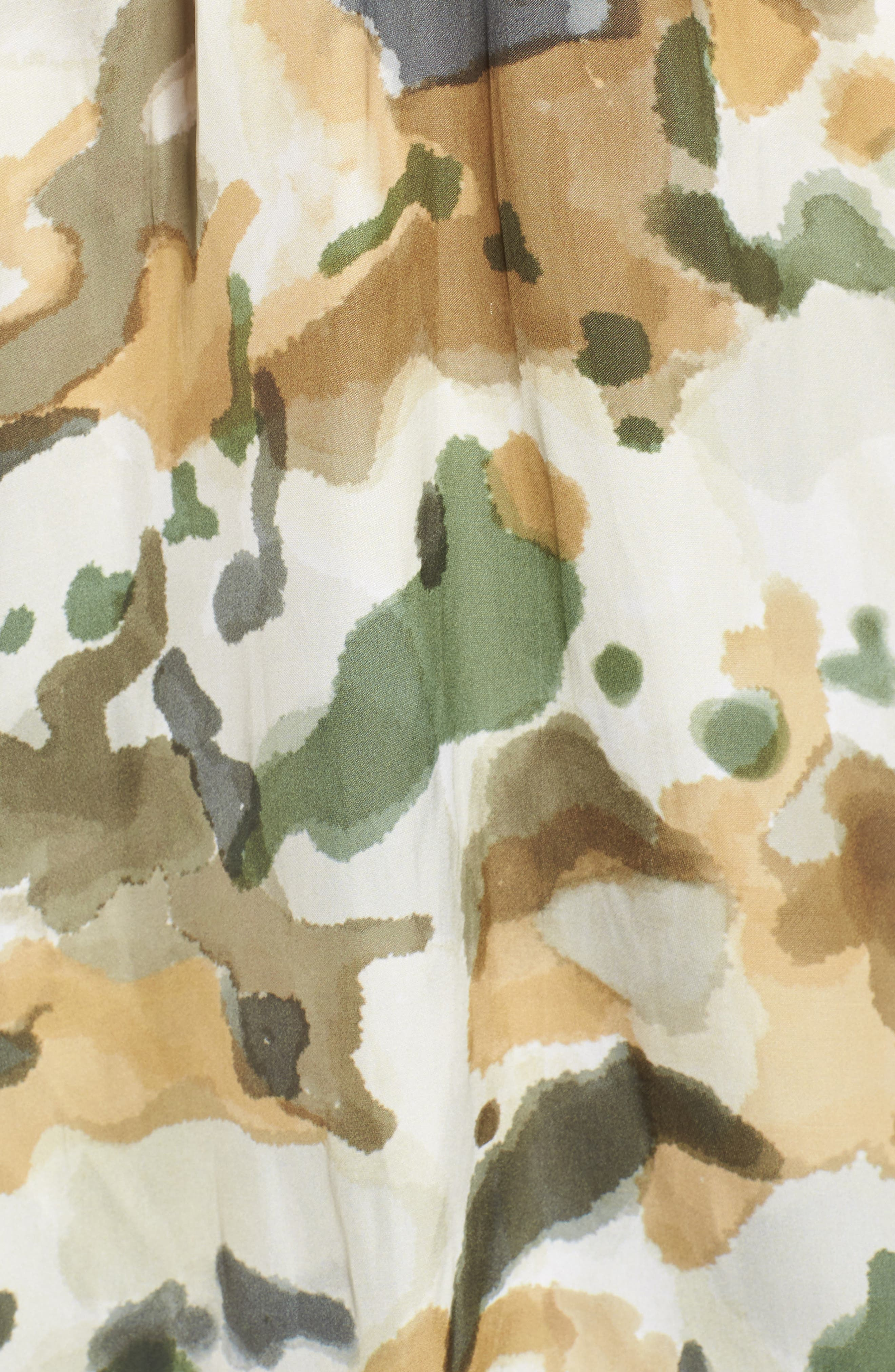Christy Camouflage Camisole,                             Alternate thumbnail 5, color,                             BEIGE