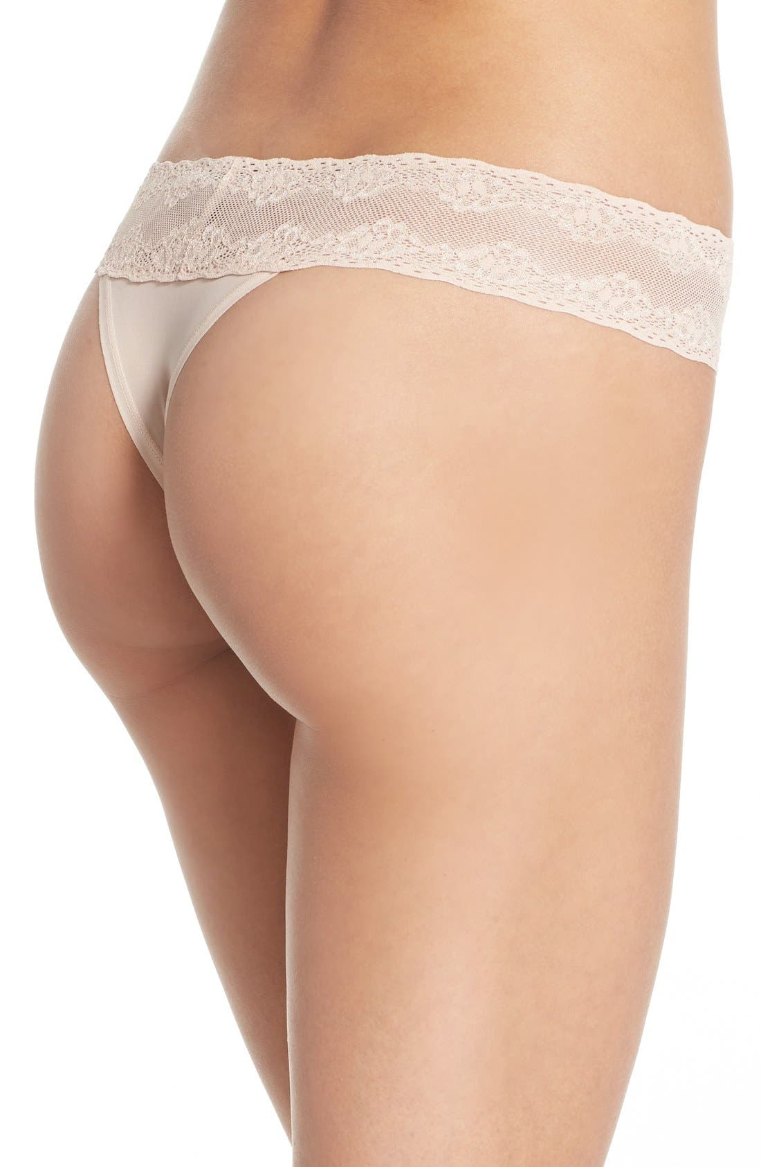 Bliss Perfection Thong,                             Alternate thumbnail 153, color,