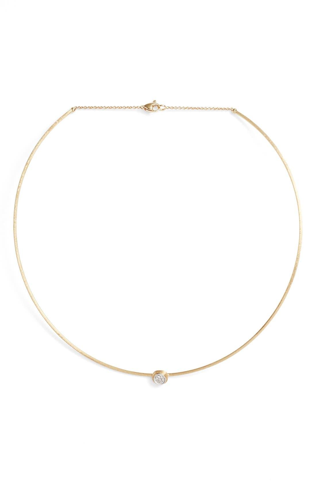 Diamond Collar Necklace,                         Main,                         color, 710