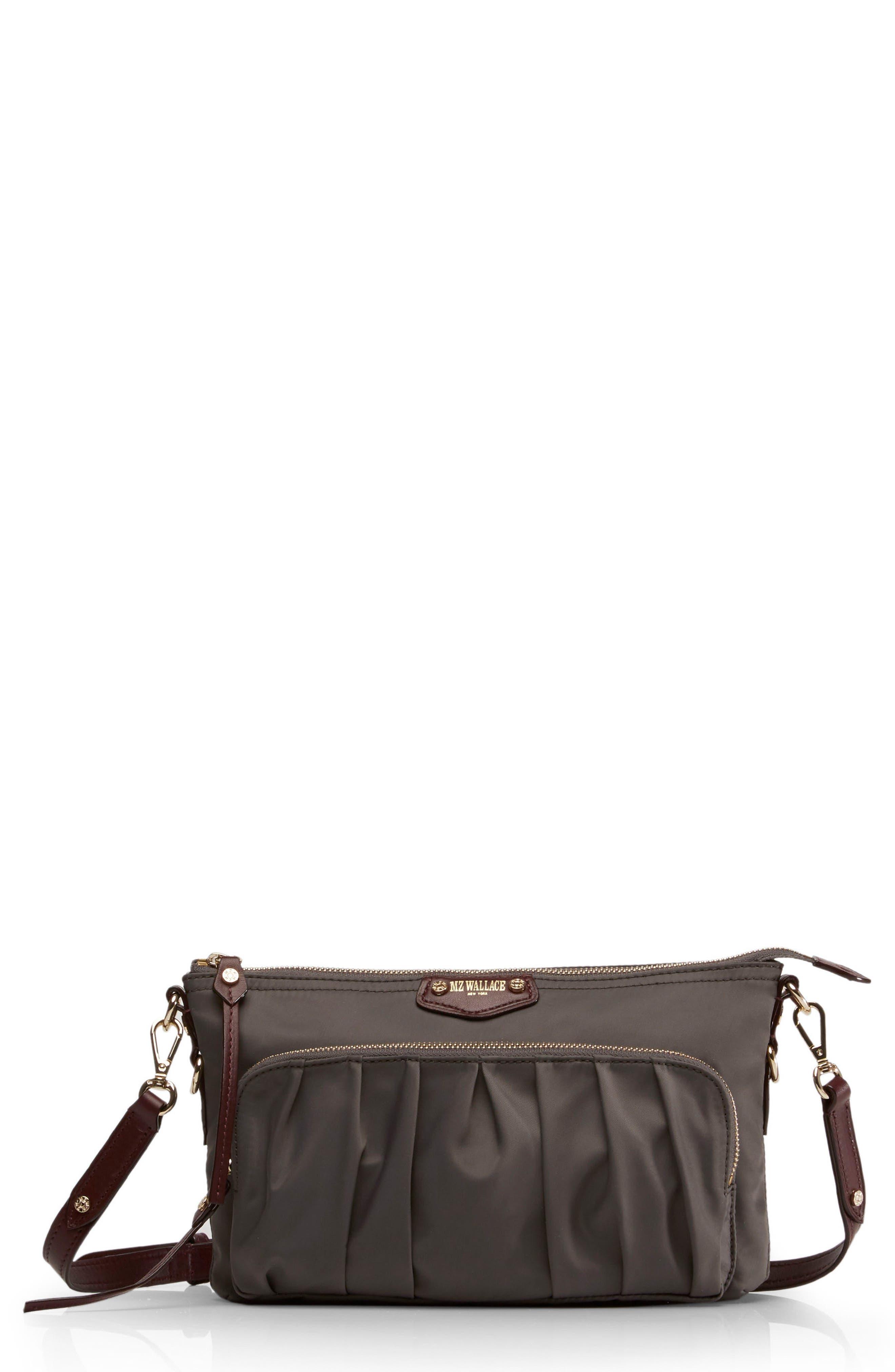 Toni Bedford Nylon Crossbody Bag,                             Main thumbnail 1, color,                             023