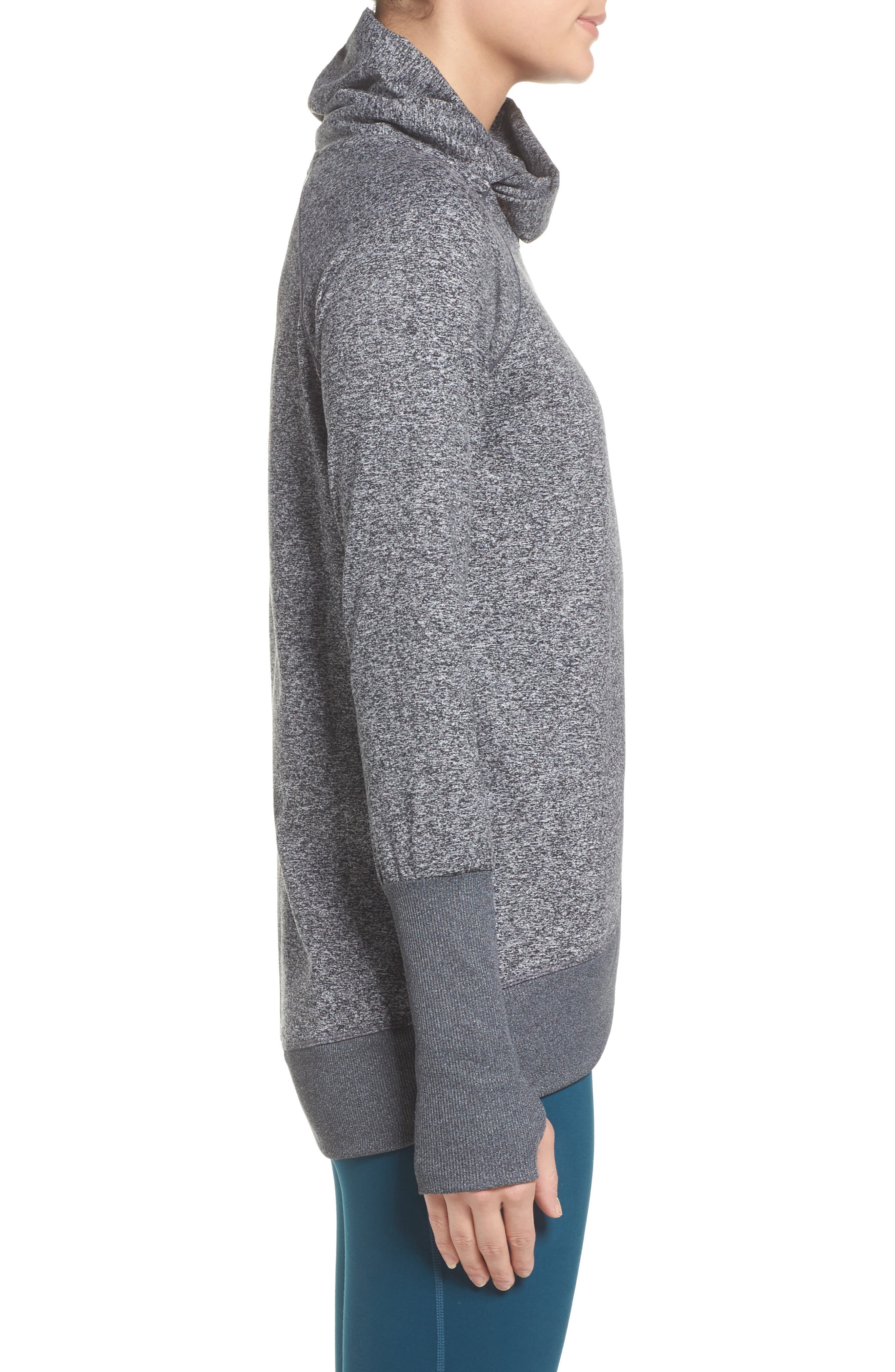 Gwen Cozy Pullover,                             Alternate thumbnail 3, color,                             001