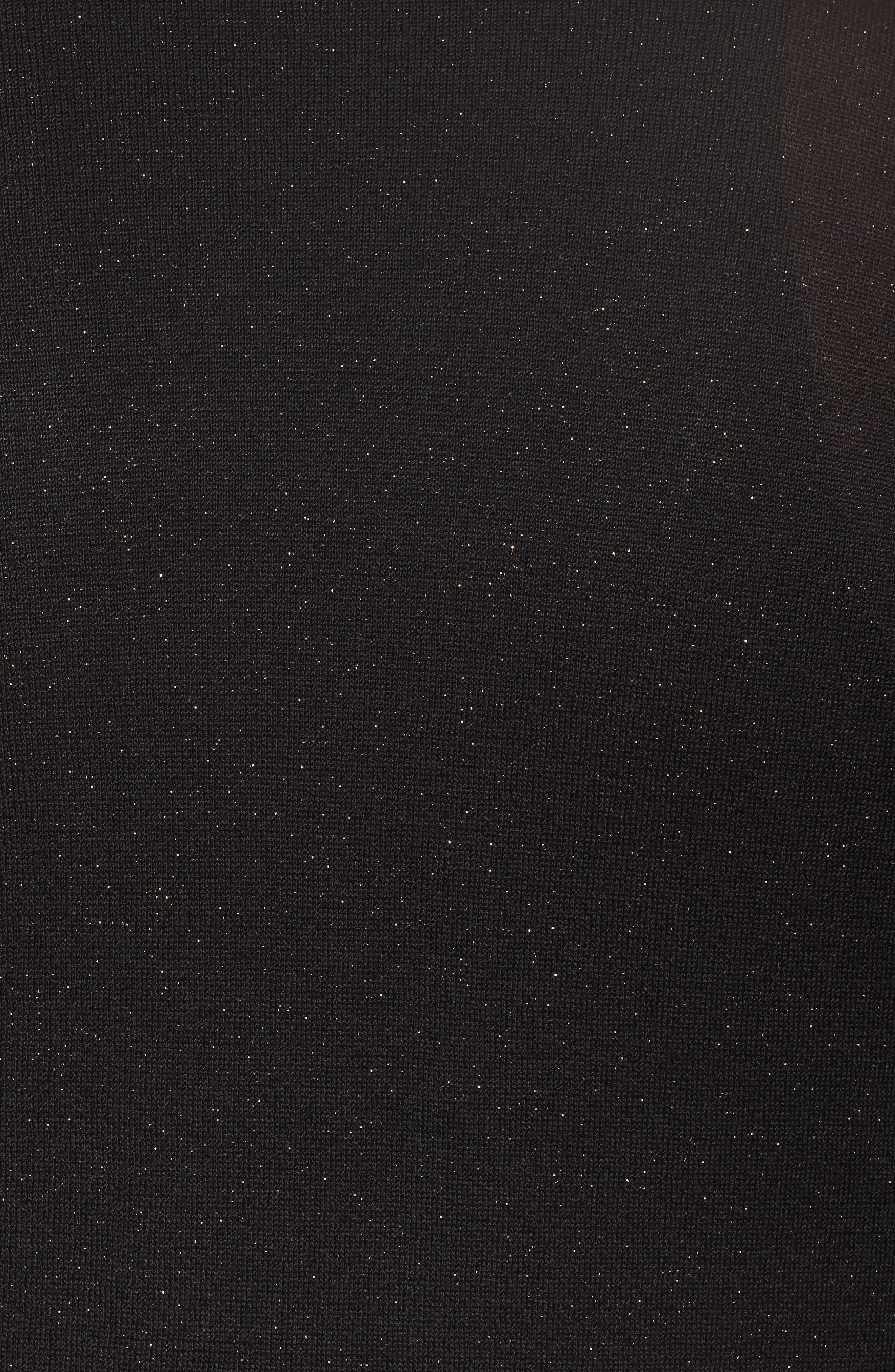 Long Sparkle Cardigan,                             Alternate thumbnail 5, color,                             001