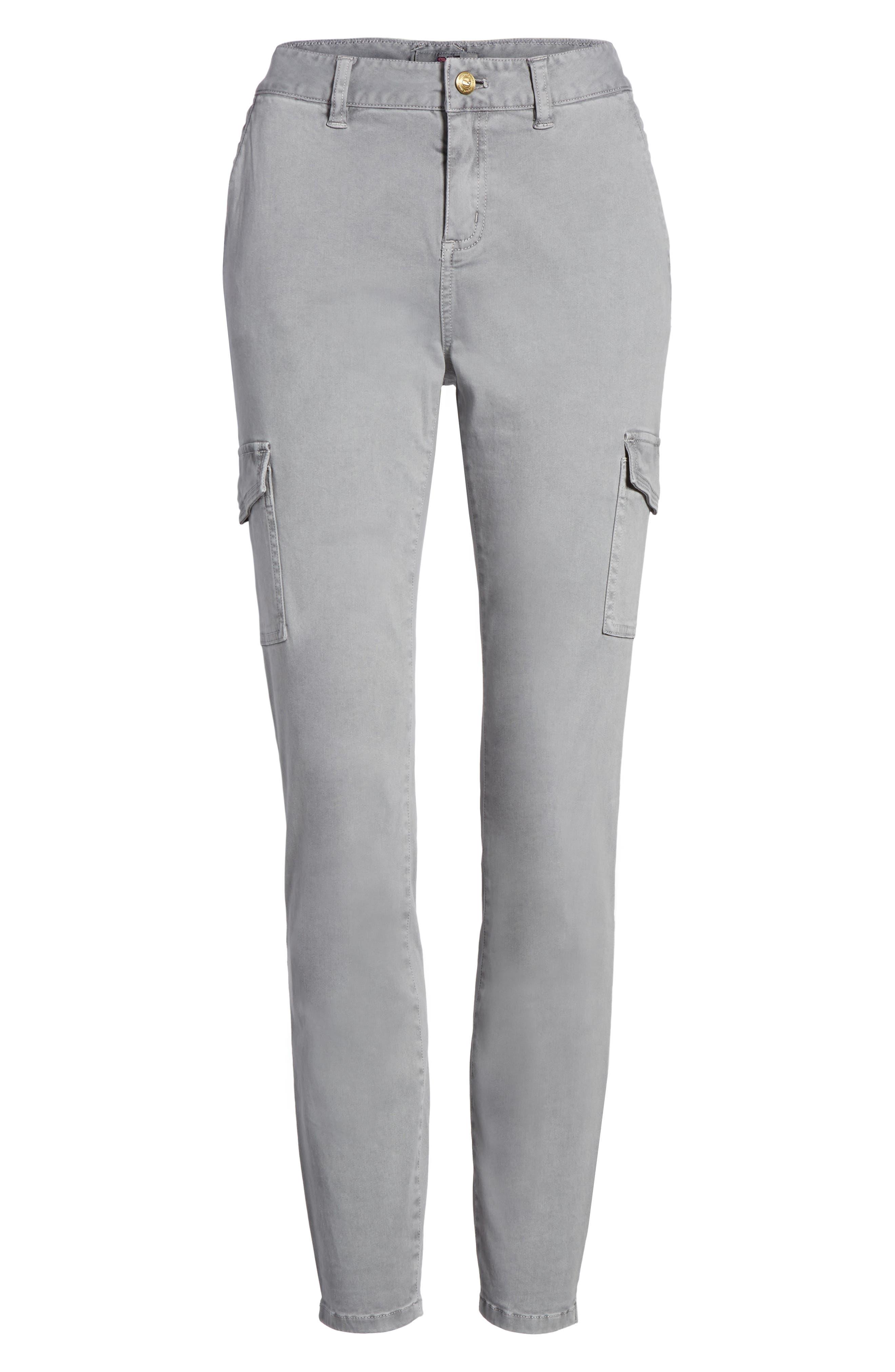 Garment Dyed Utility Skinny Pants,                             Alternate thumbnail 6, color,                             057