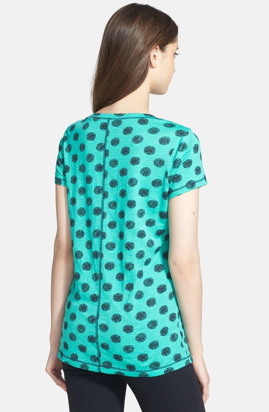 Short Sleeve Cotton & Modal Tee,                             Alternate thumbnail 34, color,