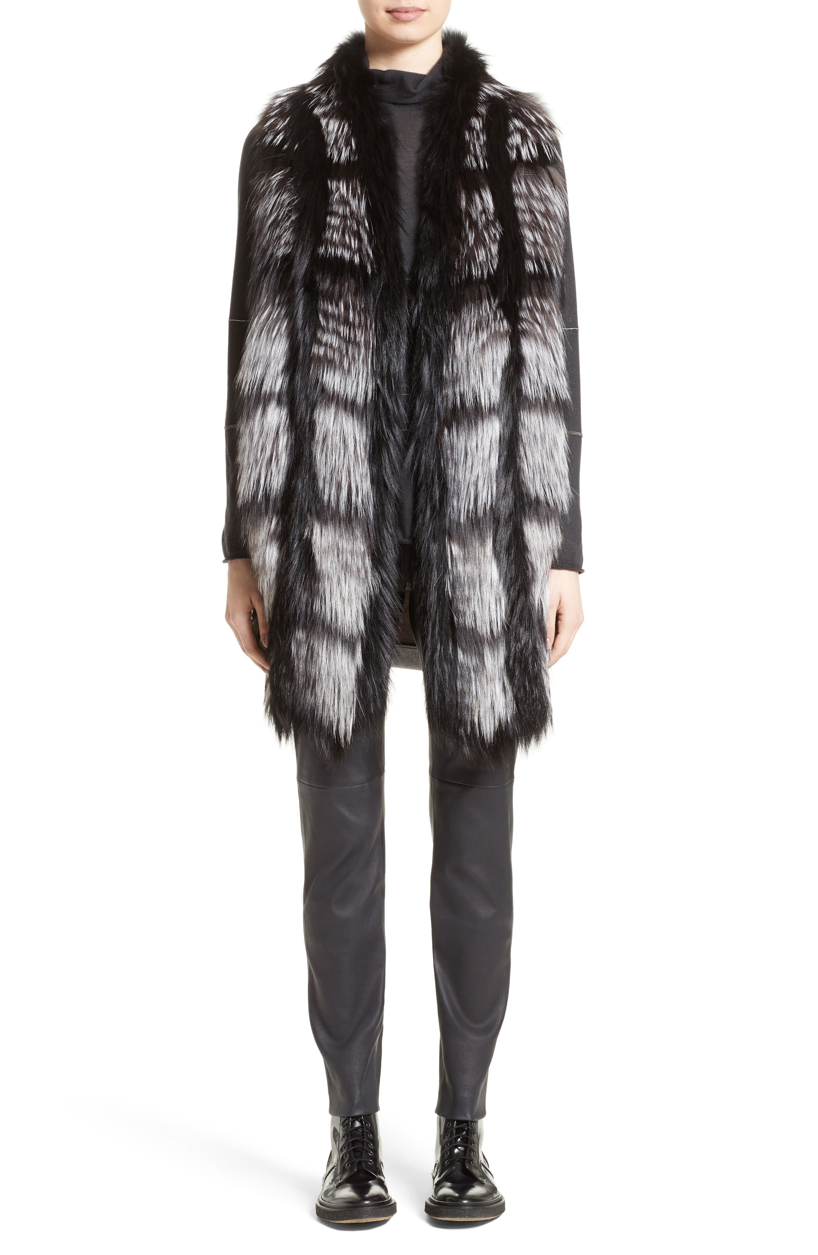 Cashmere & Silk Turtleneck Sweater,                             Alternate thumbnail 6, color,                             021