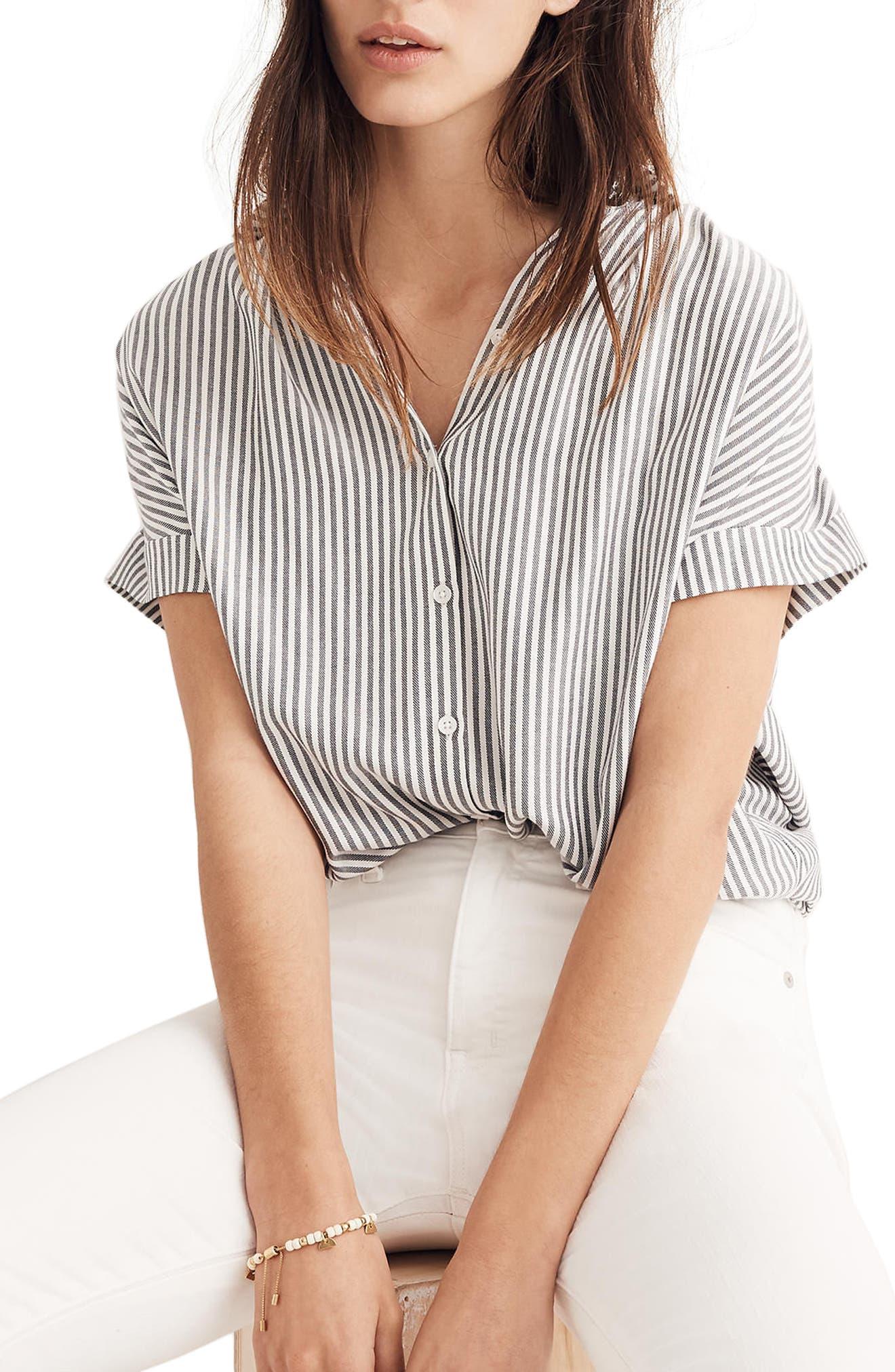 Central Stripe Shirt,                         Main,                         color,