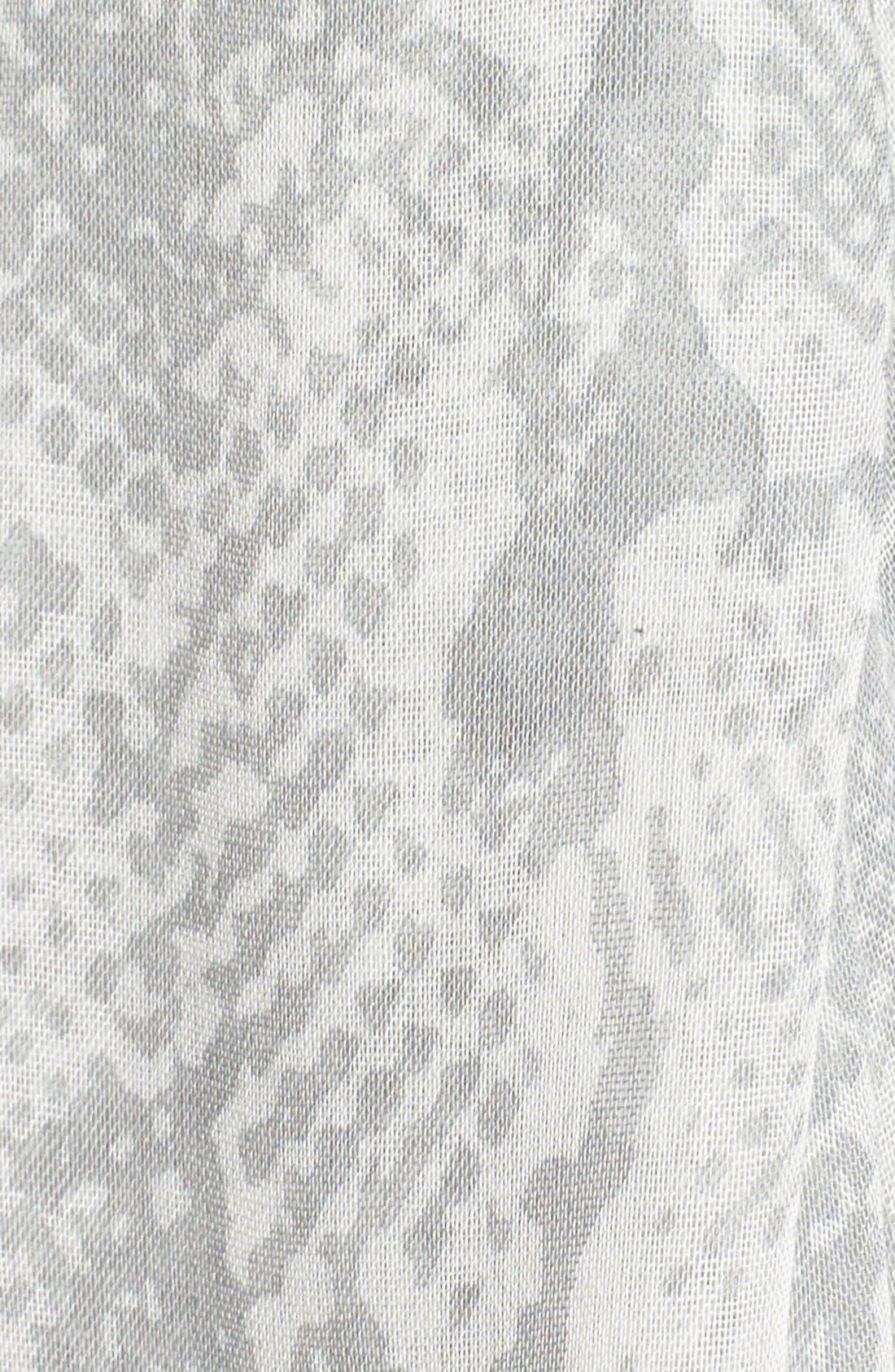 Snake Print Scarf,                             Alternate thumbnail 2, color,                             030