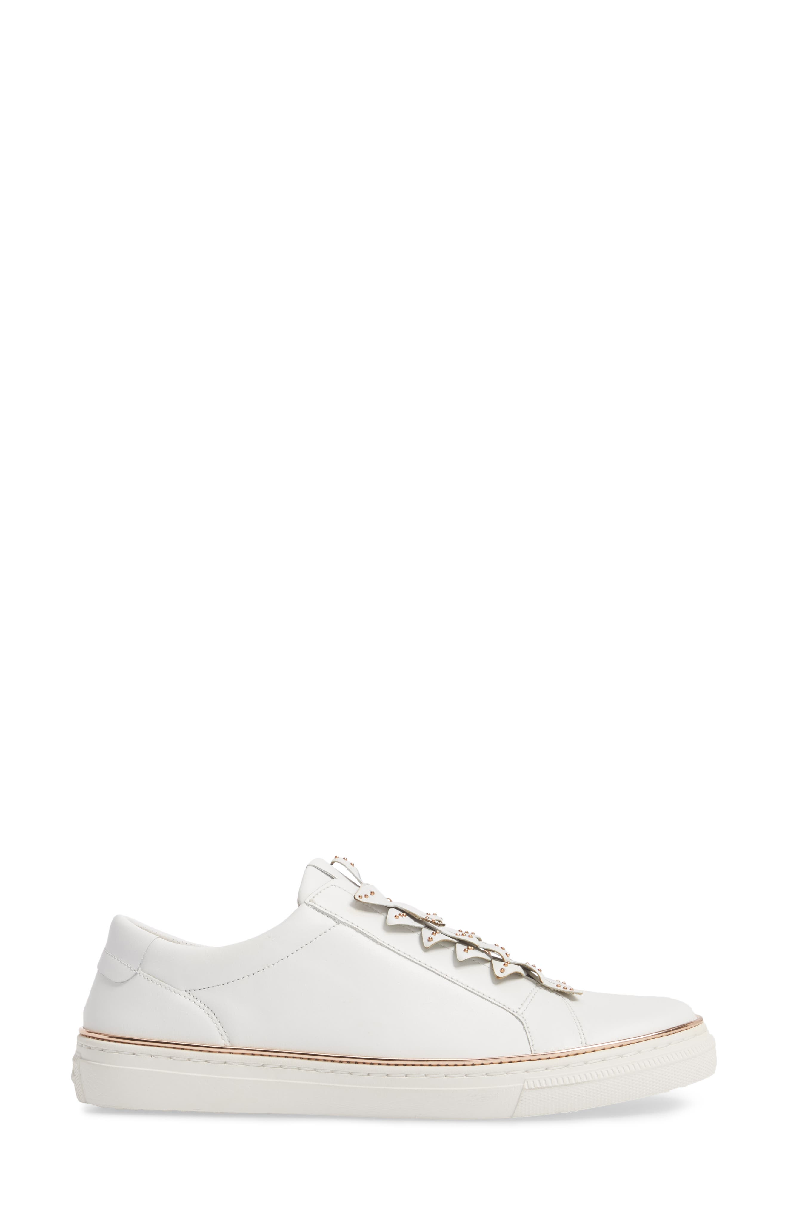 Embellished Sneaker,                             Alternate thumbnail 3, color,                             100