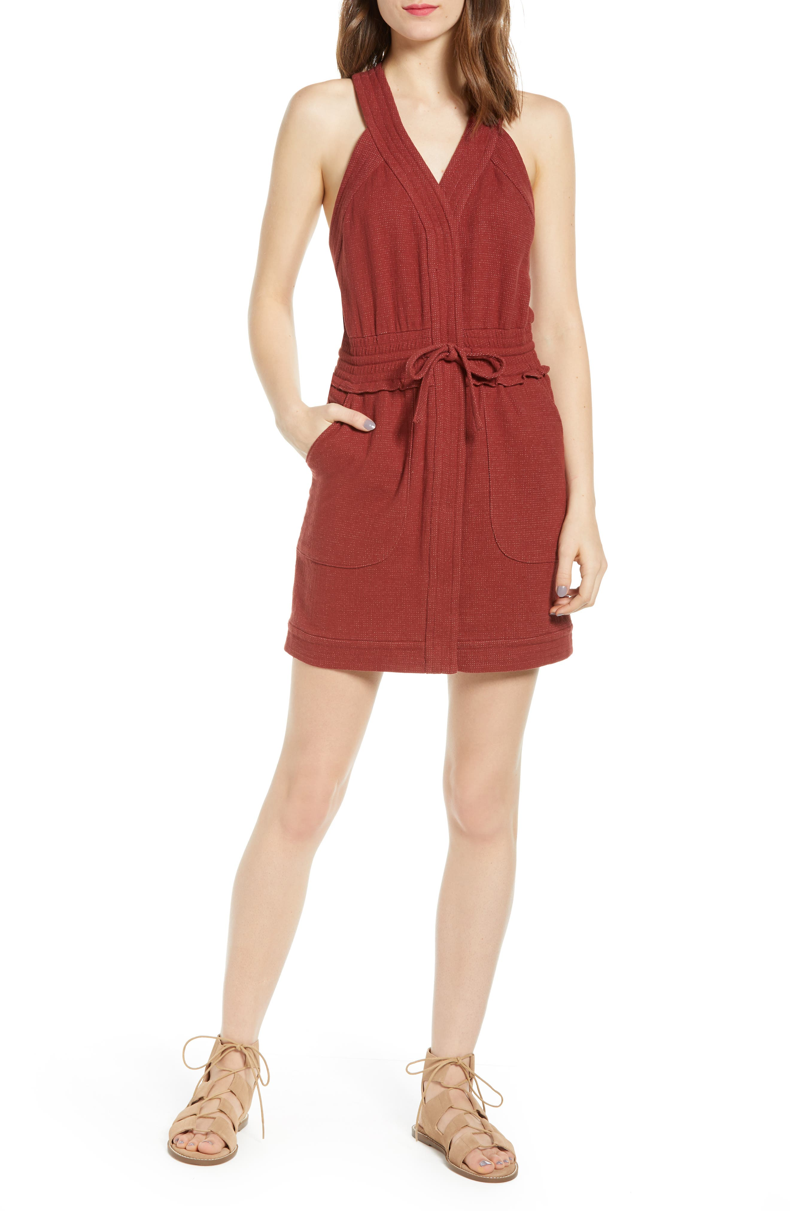 Rebecca Minkoff Royal Racerback Dress, Red