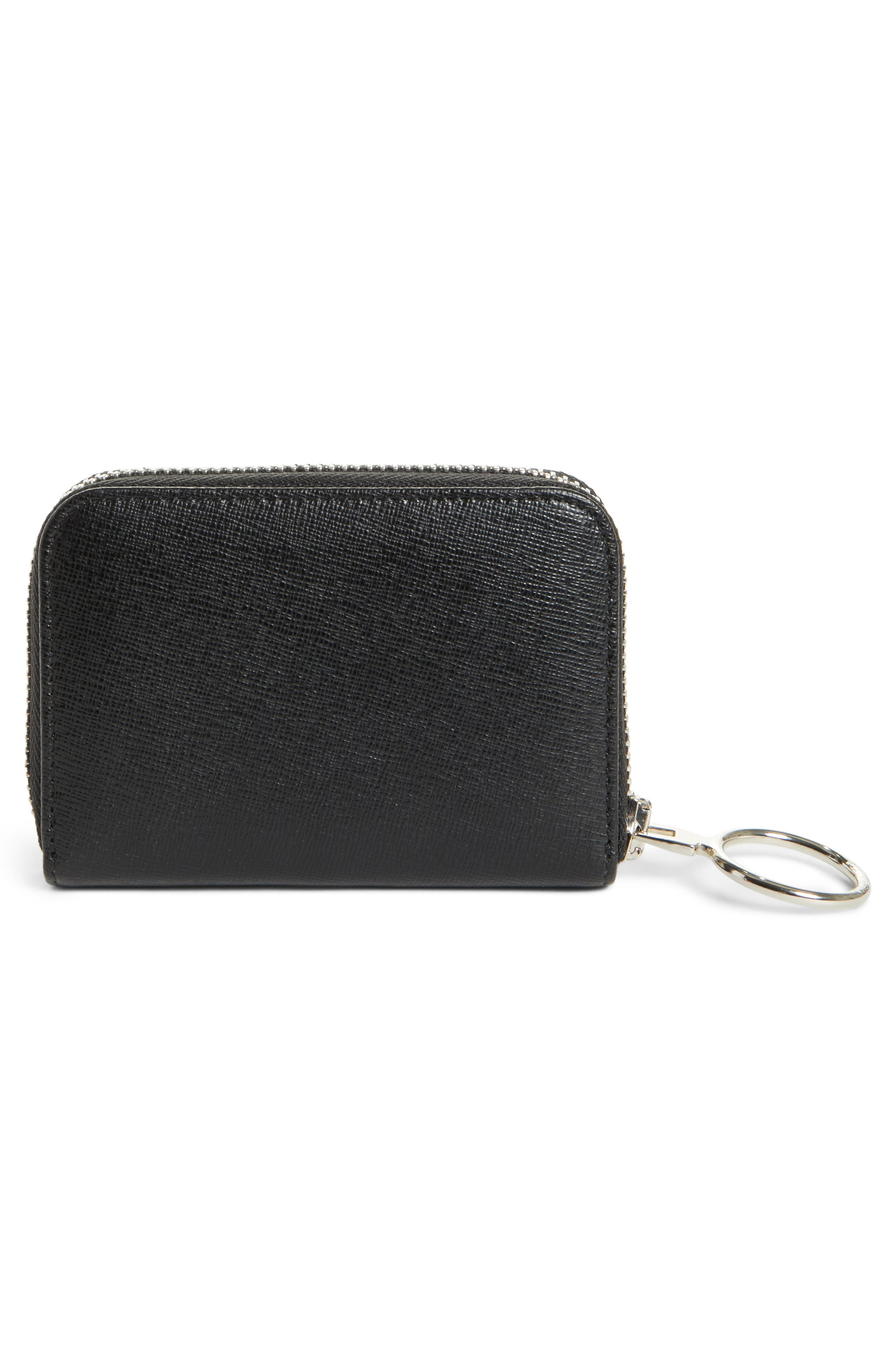 Medium Zip Wallet,                             Alternate thumbnail 3, color,                             001