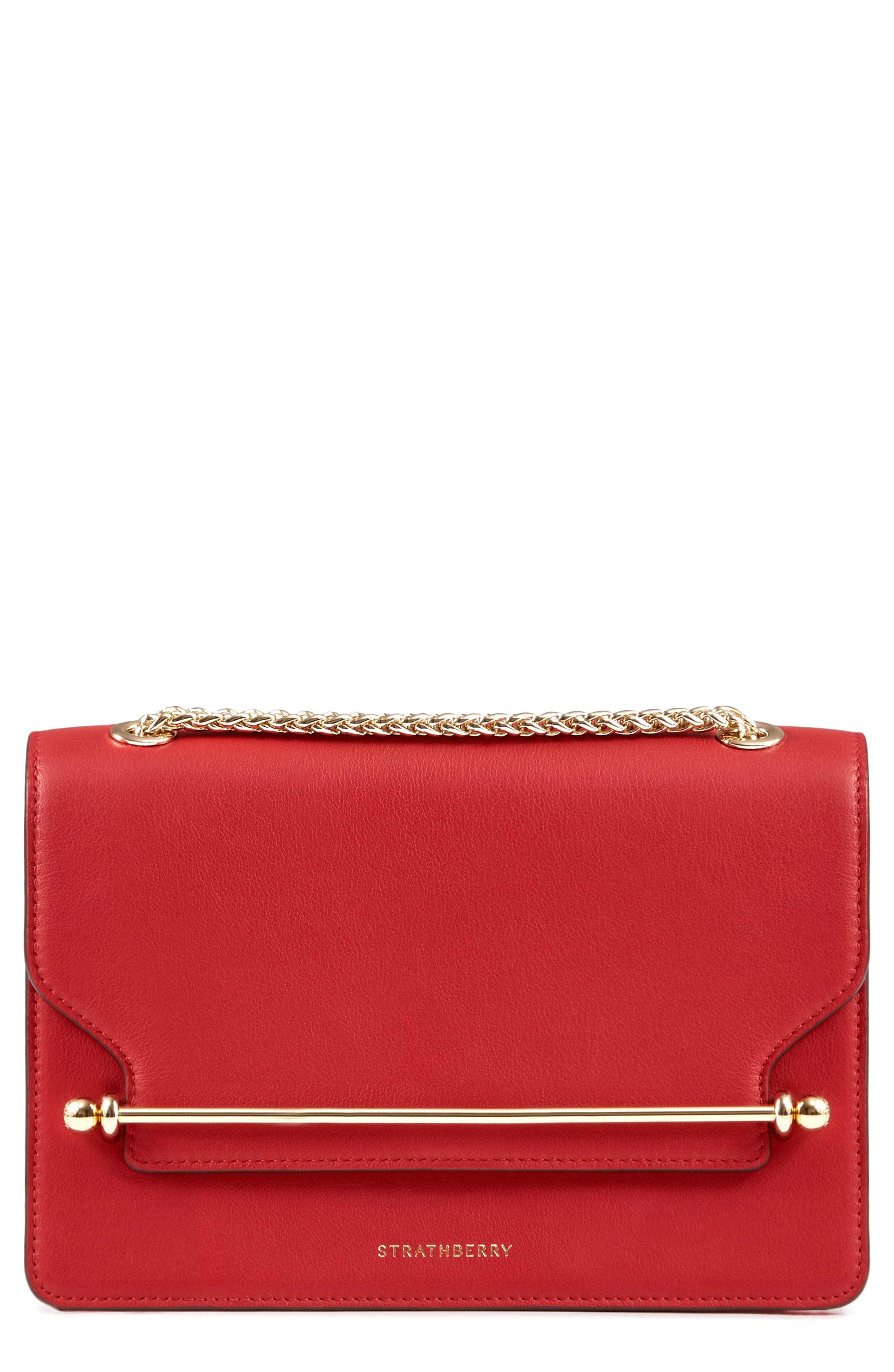 East/West Leather Crossbody Bag,                             Main thumbnail 3, color,