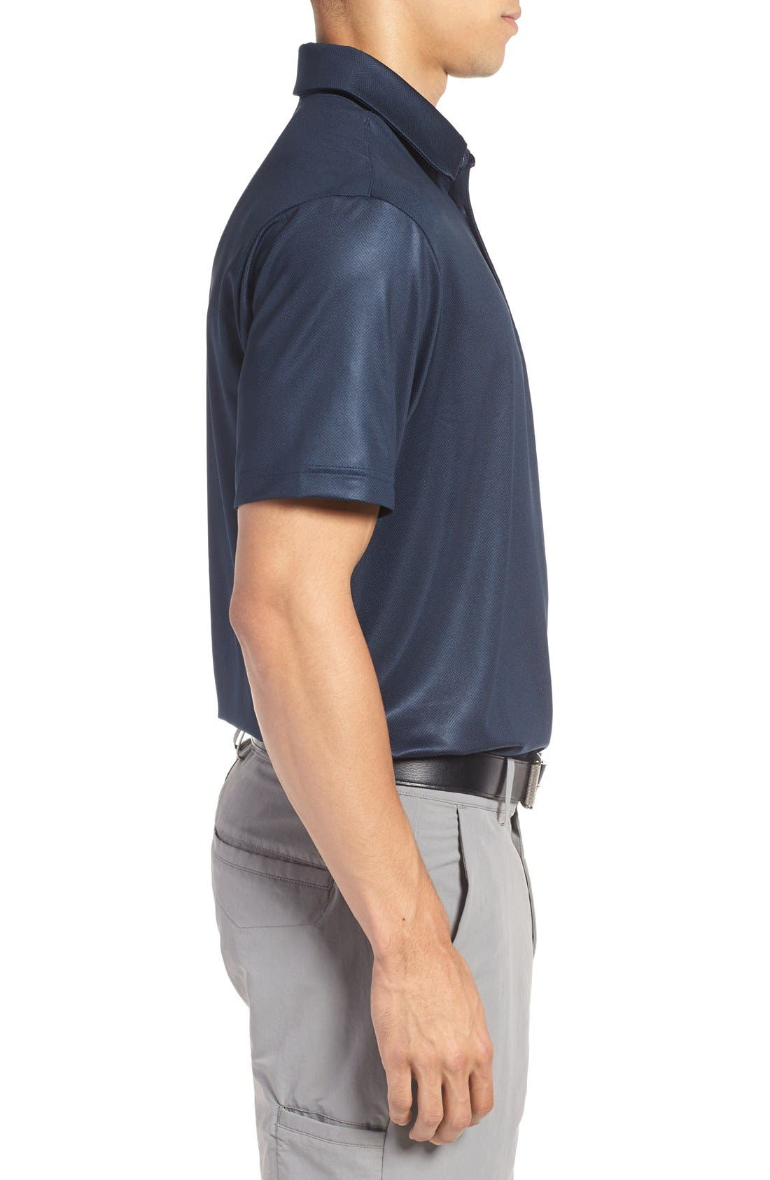 'Playoff' Loose Fit Short Sleeve Polo,                             Alternate thumbnail 262, color,