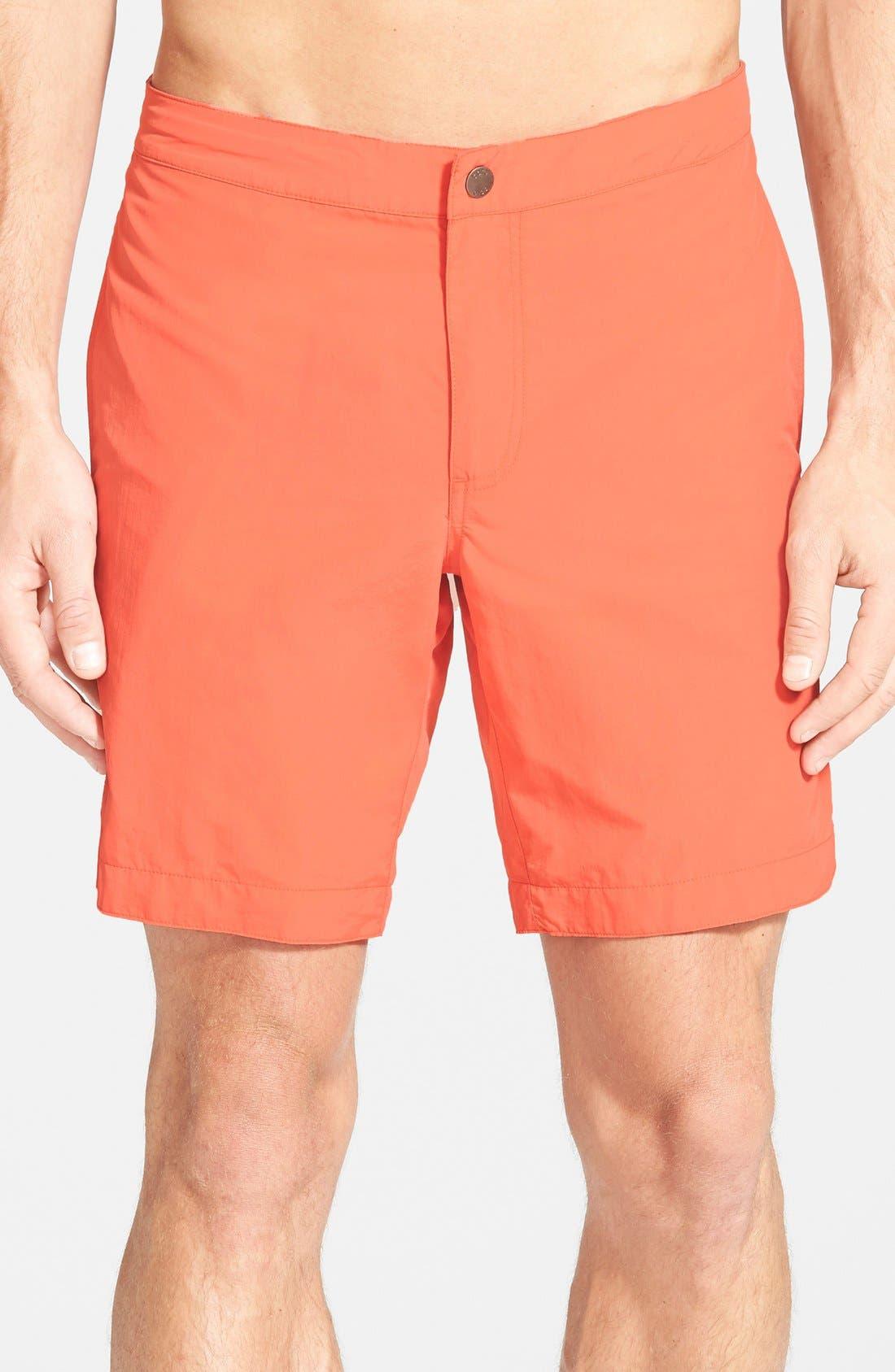 'Aruba - Island' Tailored Fit 8.5 Inch Board Shorts,                             Main thumbnail 4, color,