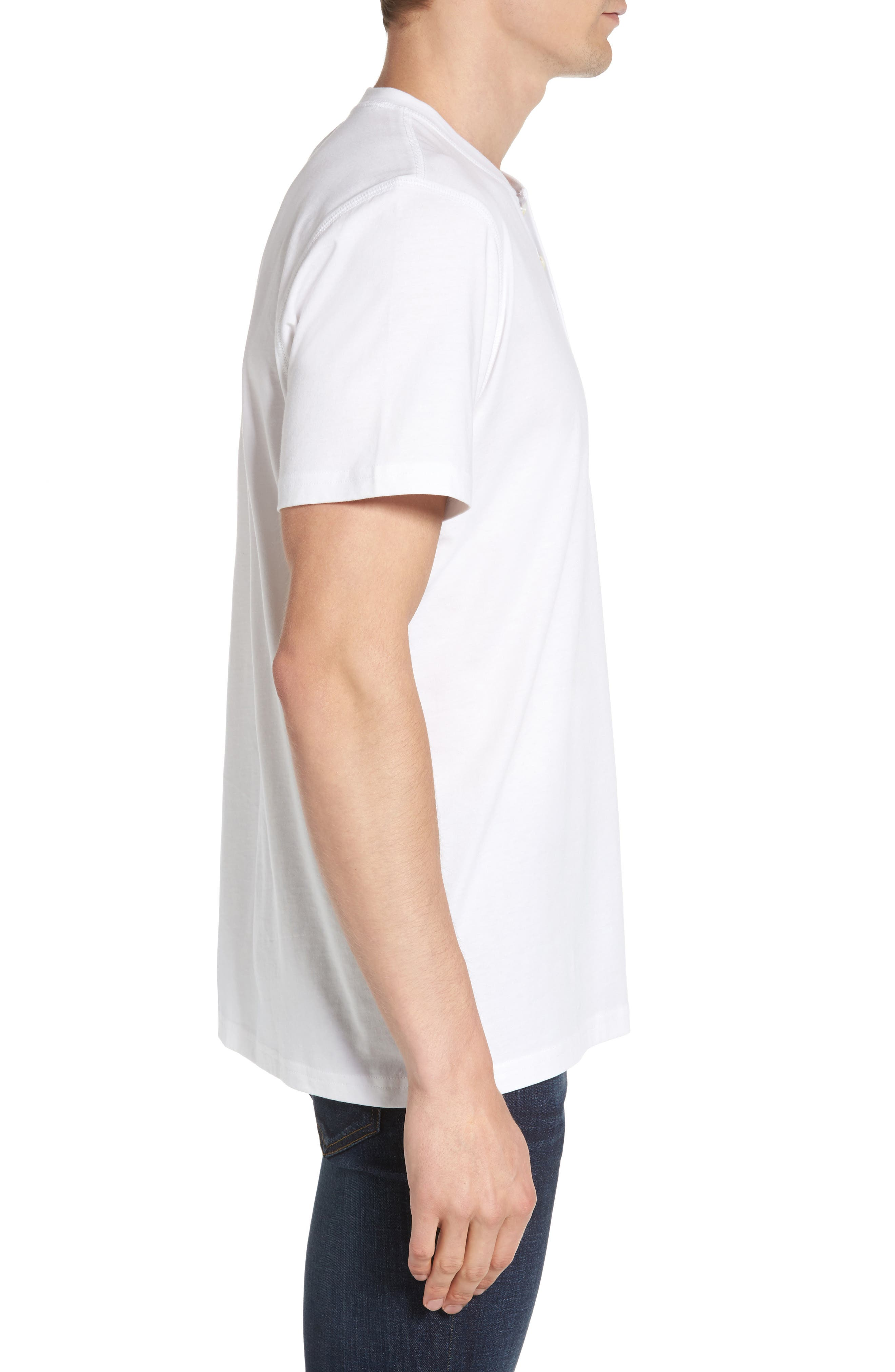 Henley T-Shirt,                             Alternate thumbnail 8, color,