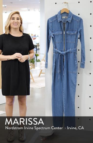 Utility Denim Jumpsuit, sales video thumbnail