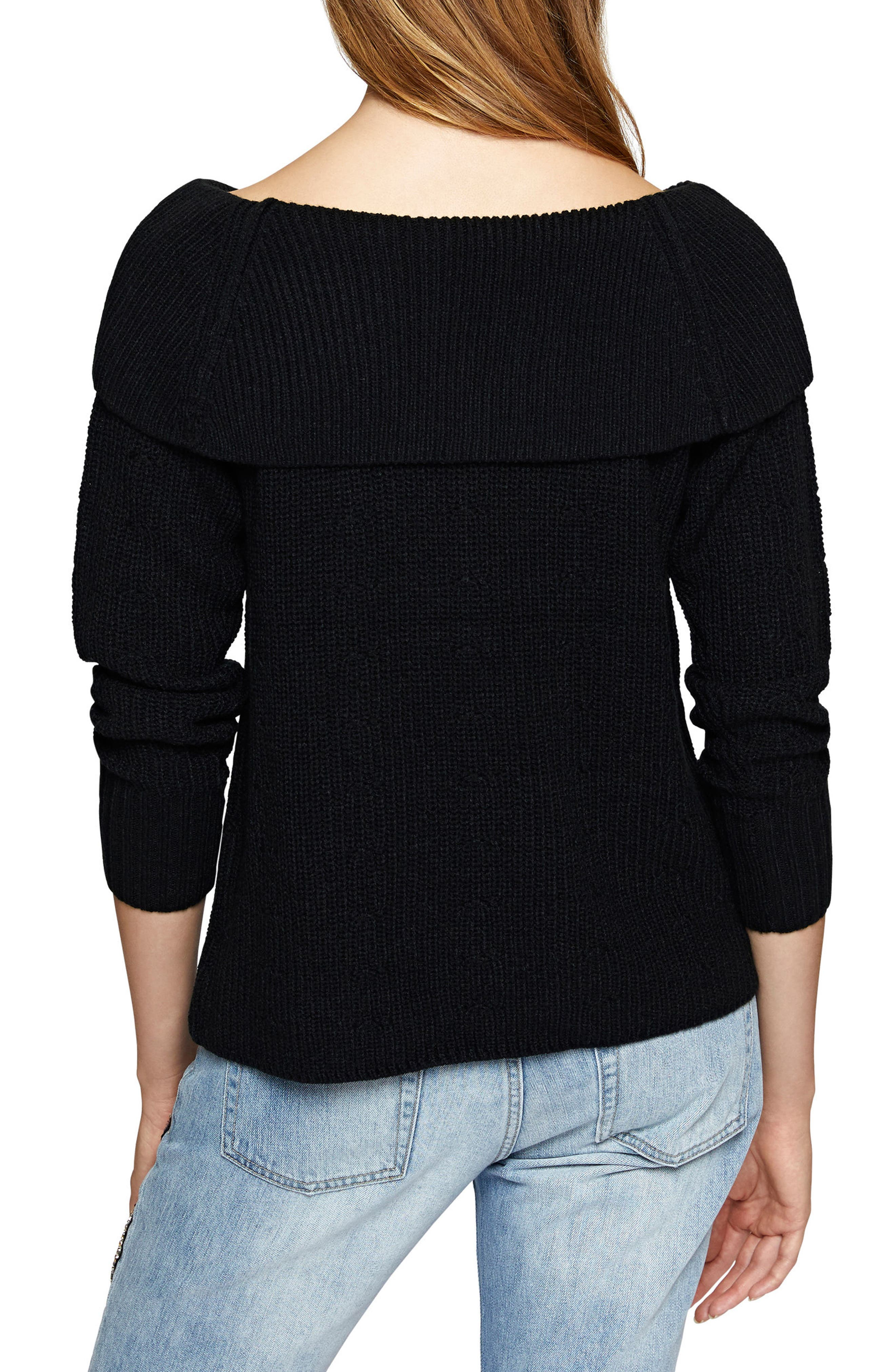 Nina Popover Sweater,                             Alternate thumbnail 3, color,