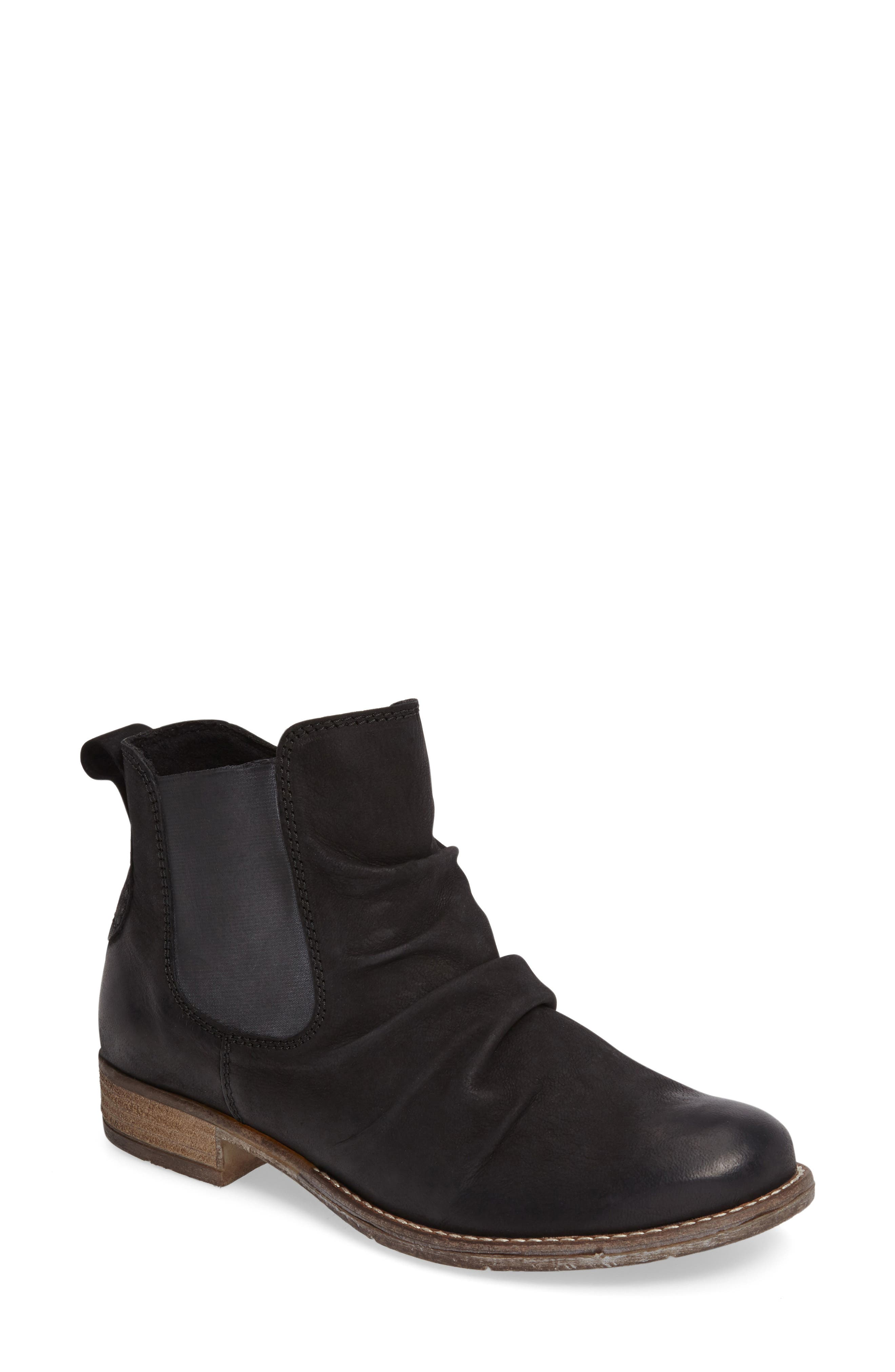 Sienna 59 Slouchy Chelsea Bootie,                             Main thumbnail 1, color,                             004