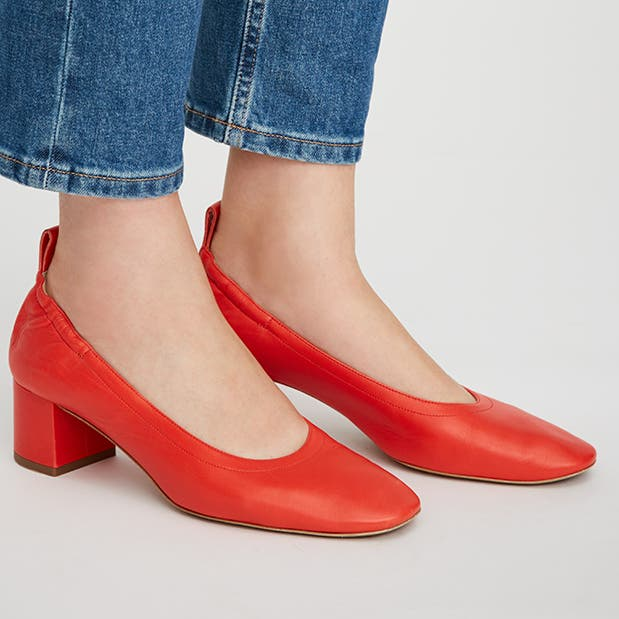 Pop-In@Nordstrom Welcomes Everlane: Women's day heels, $145.